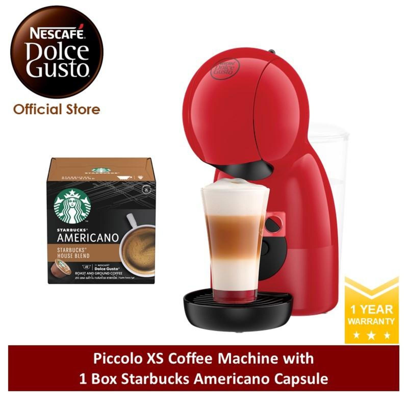 NESCAFE Dolce Gusto PiccoloXS w Starbucks Coffee Capsule(DR)