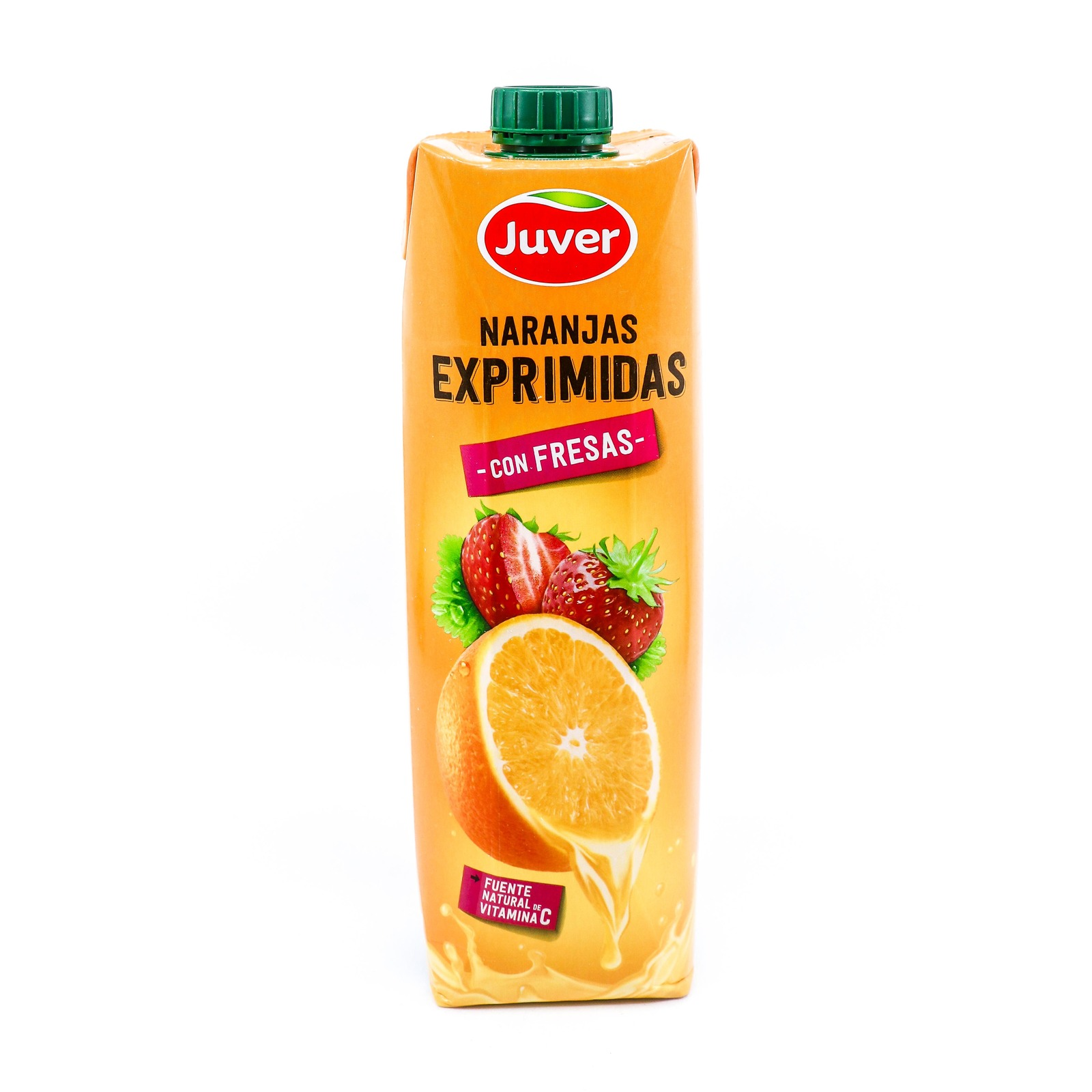 Juver 100% NFC Orange Juice With Strawberries