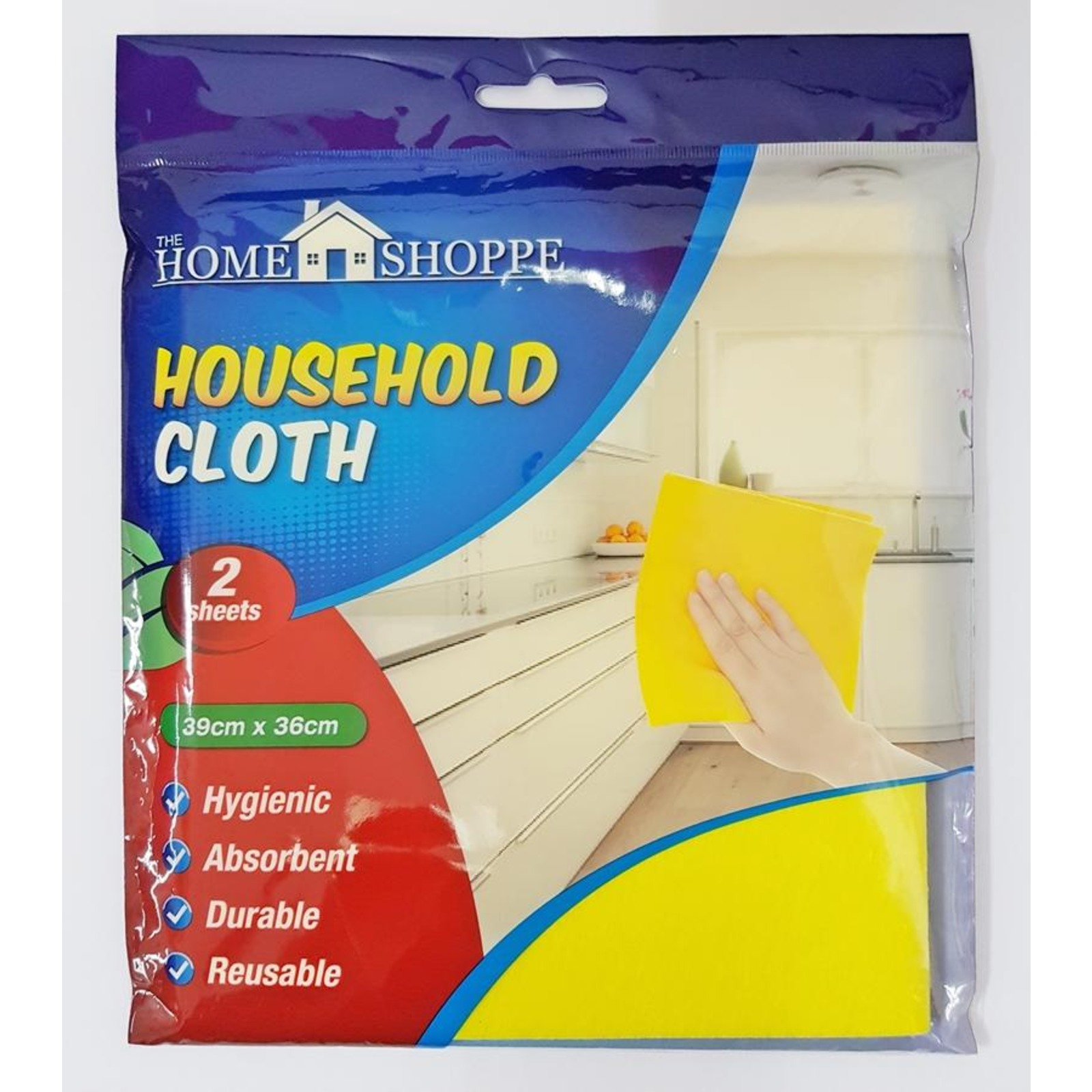 KDC Household Cleaning Cloth Pack Yellow