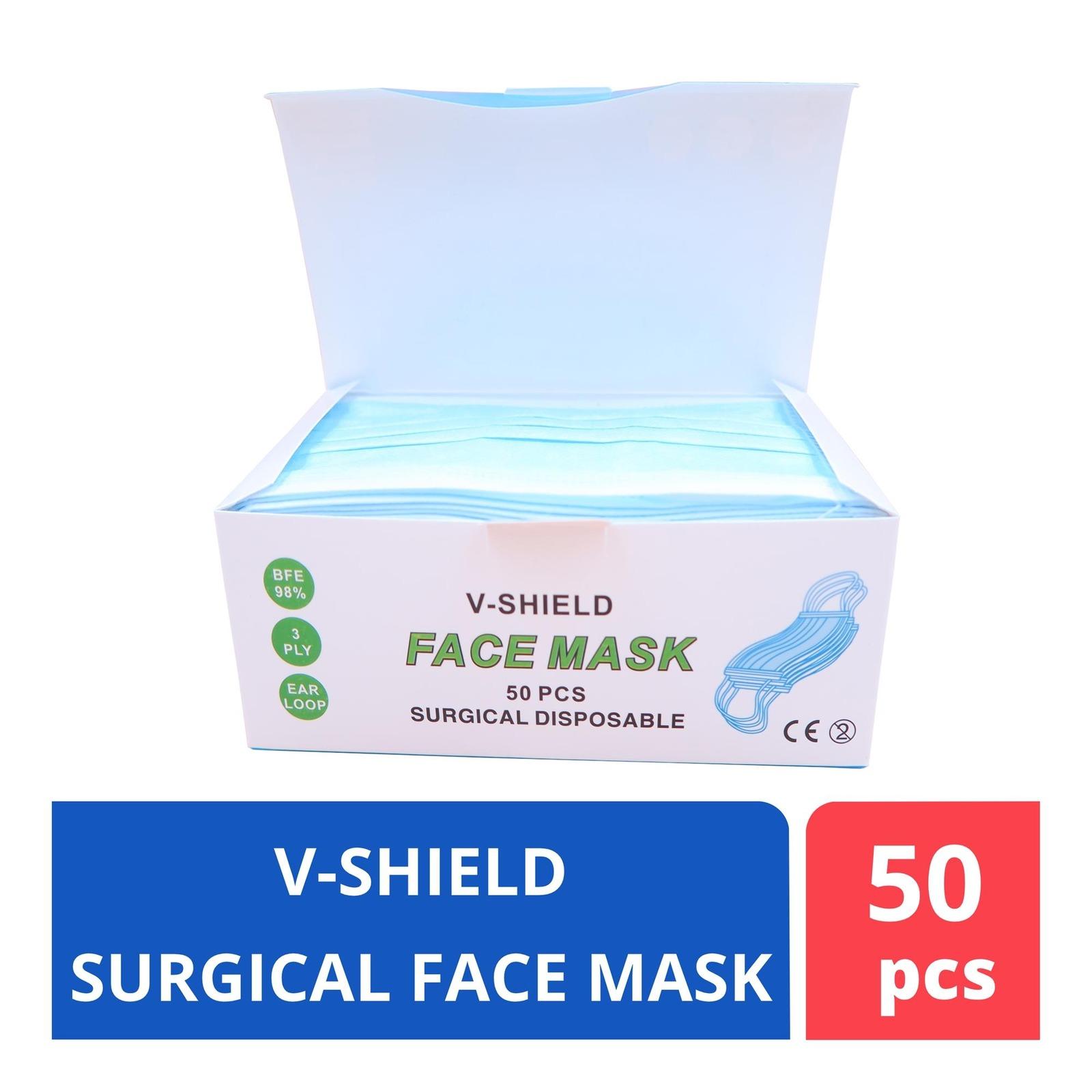 ALCARE V-shield Surgical Face Mask