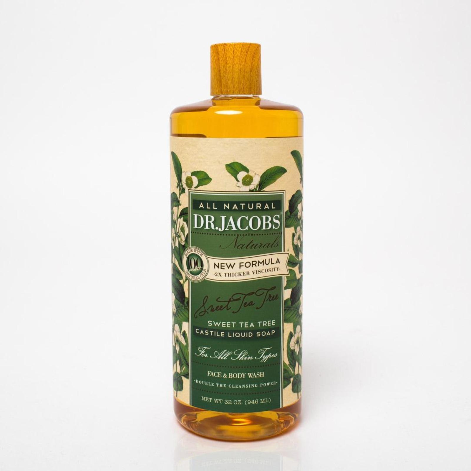 Dr. Jacobs Naturals Castile Liquid Soap Sweet Tea Tree