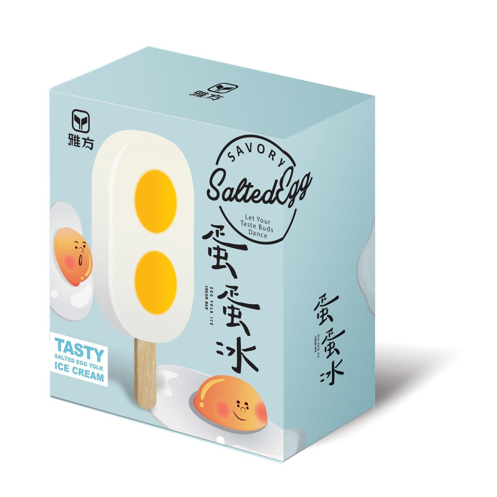 Ya Fang Salted Egg Yolk Flavour Ice Bars