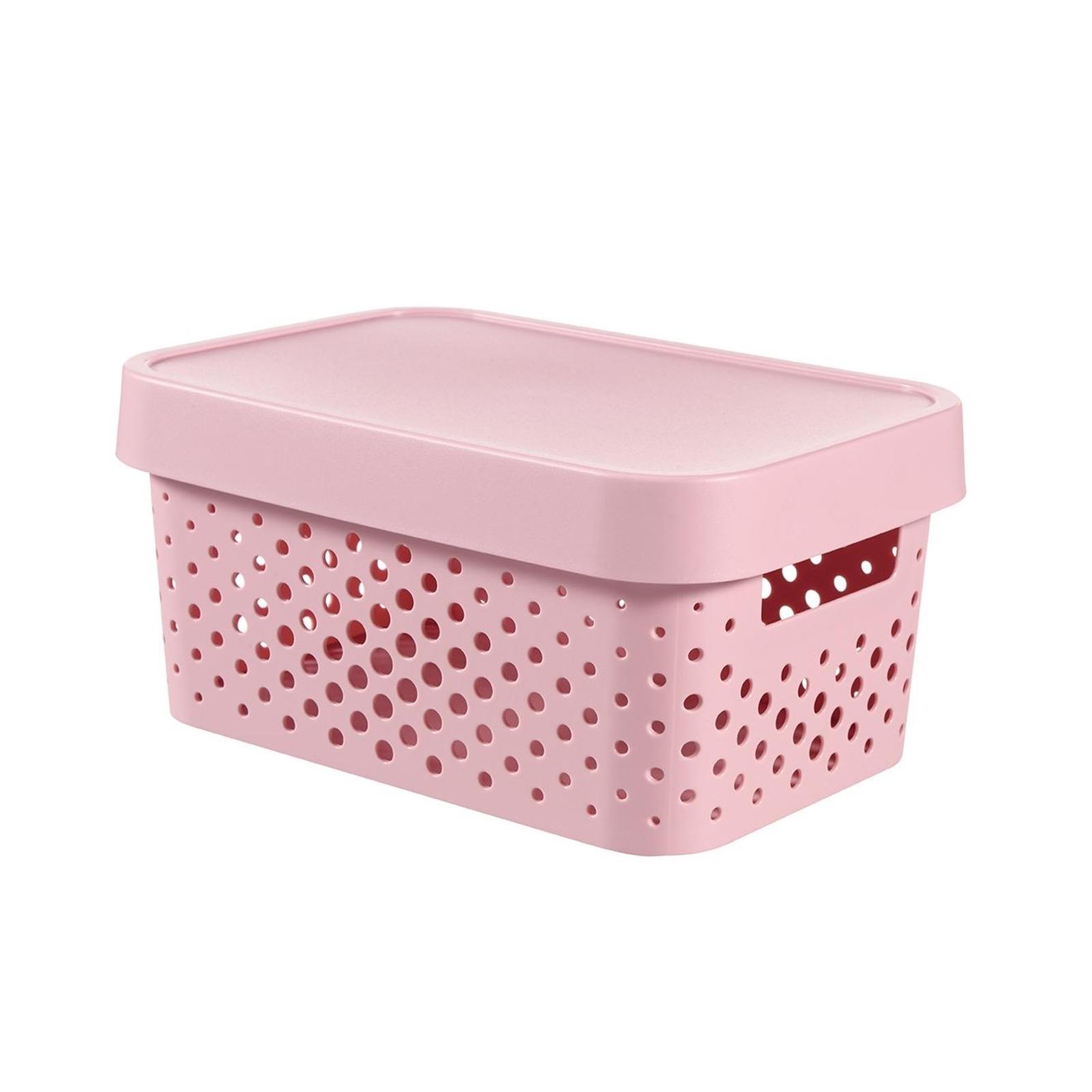 CURVER Infinity Box Dots 4.5L + Lid Pink