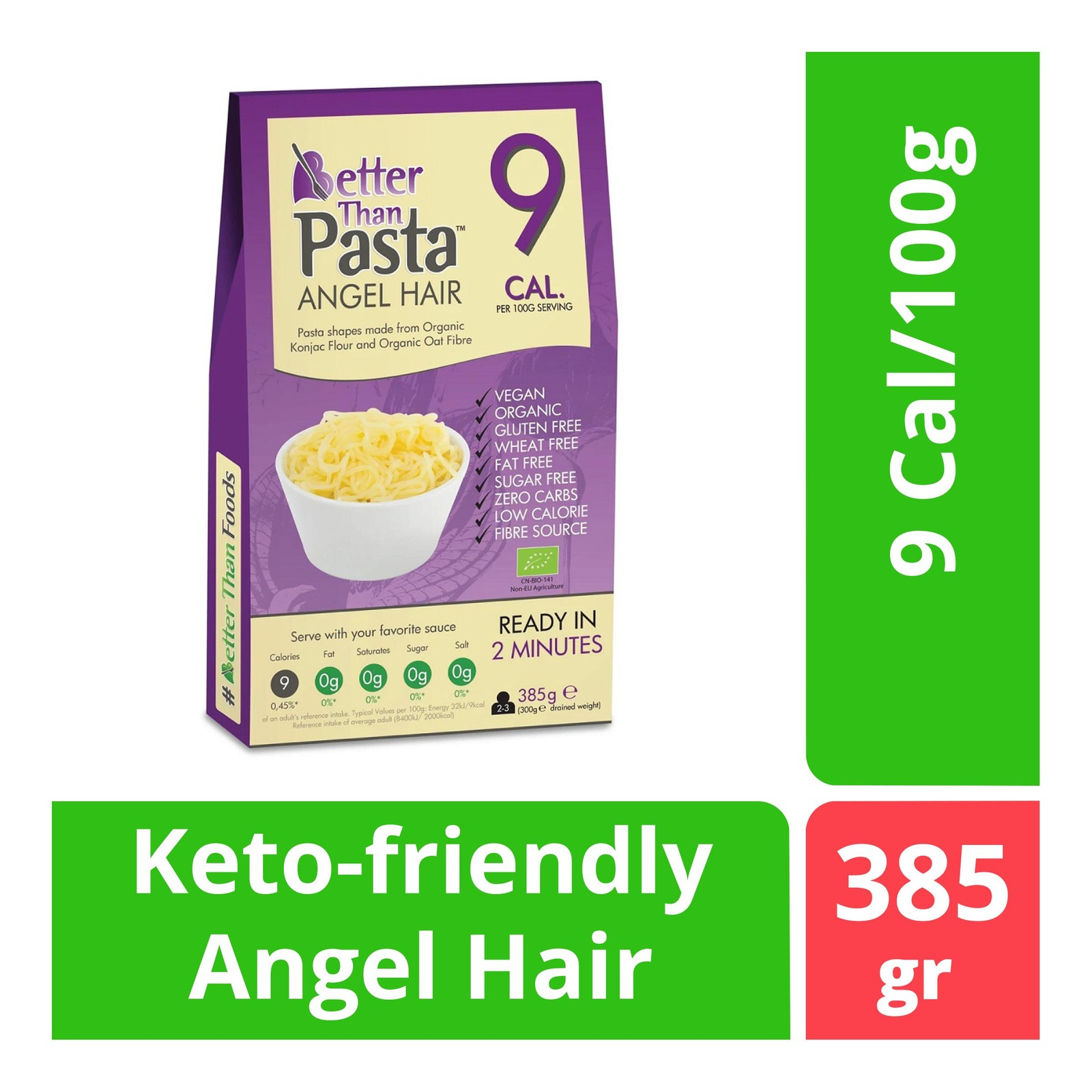 BetterThan Konjac Angel Hair (Organic)
