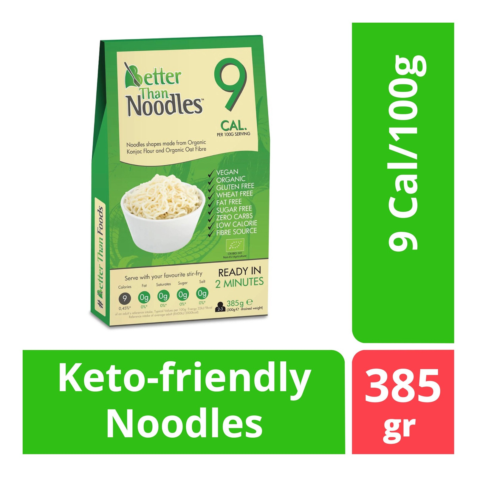 BetterThan Konjac Noodles (Organic)