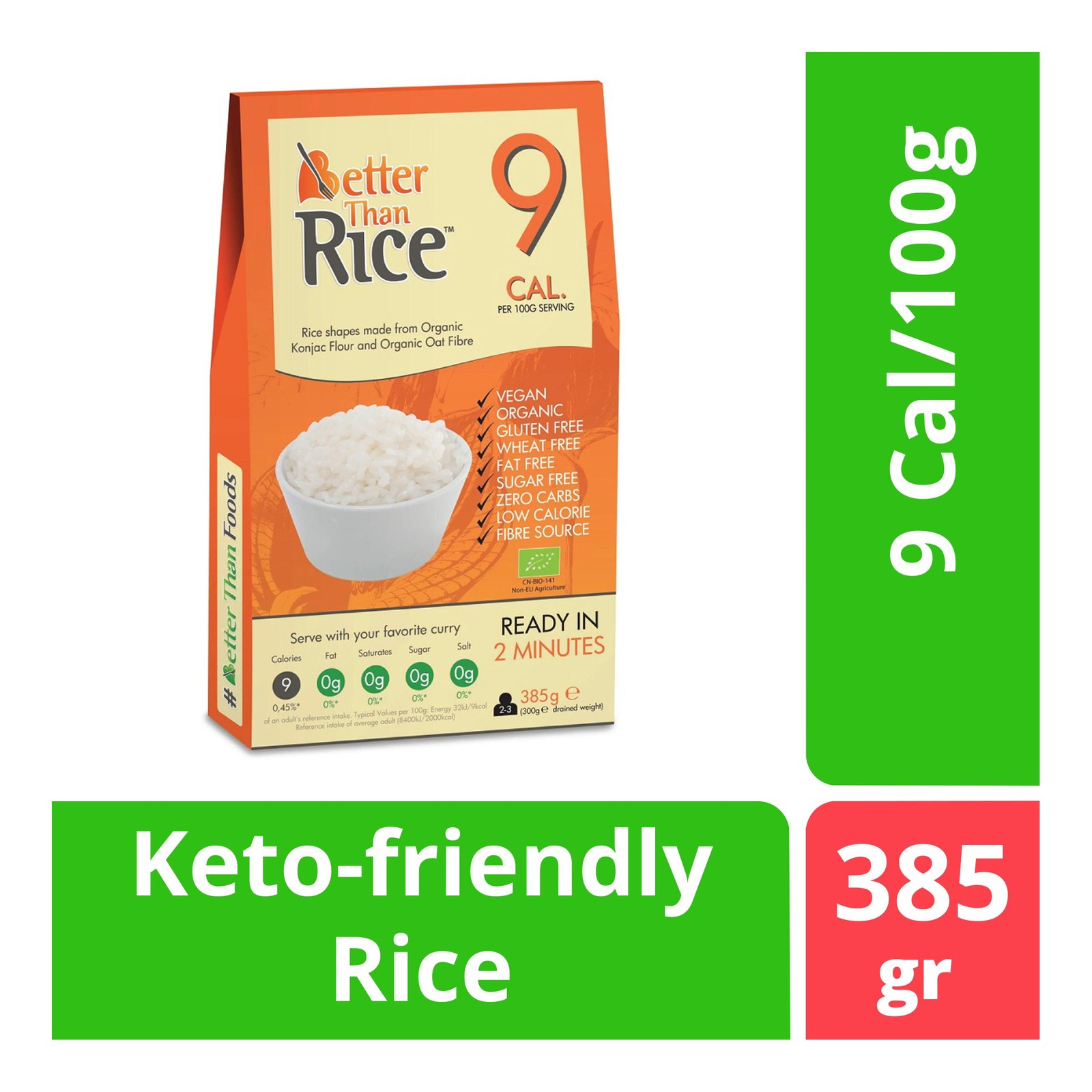 BetterThan Konjac Rice (Organic)