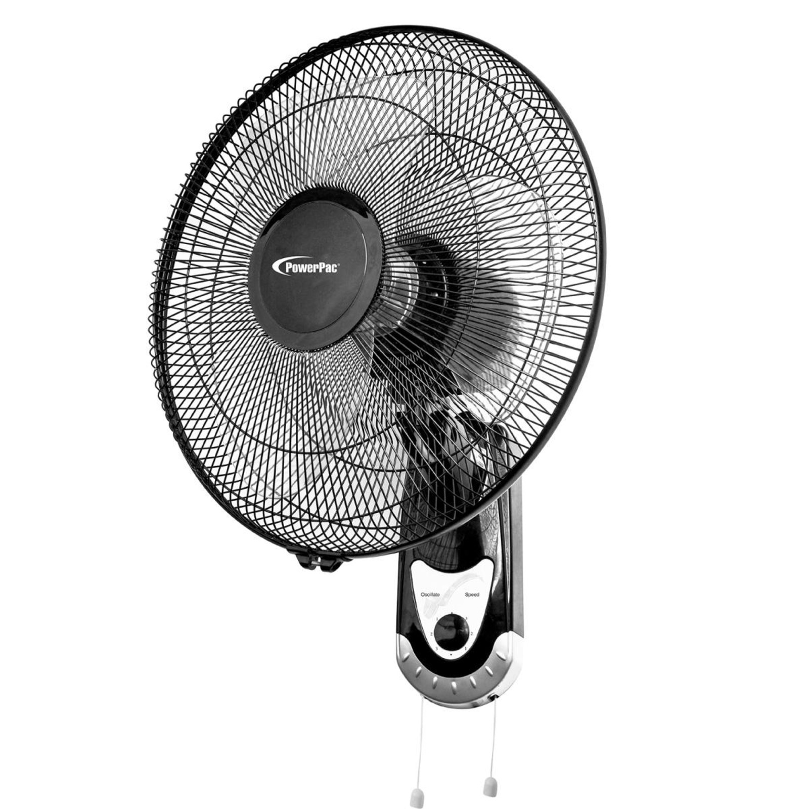 PowerPac 16 Inch Wall Fan With Oscillation - PPWF40