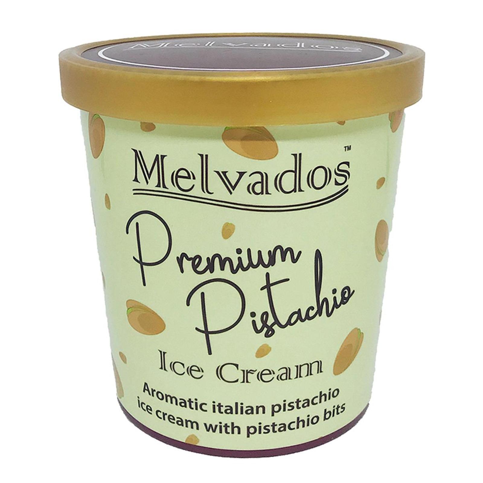 MELVADOS Premium Pistachio Ice Cream