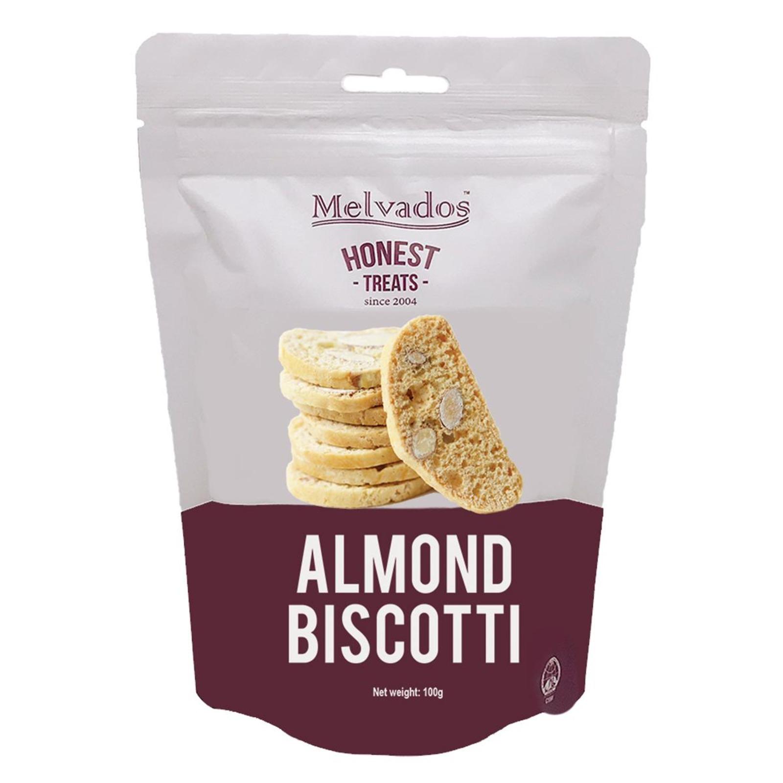 MELVADOS Almond Biscotti