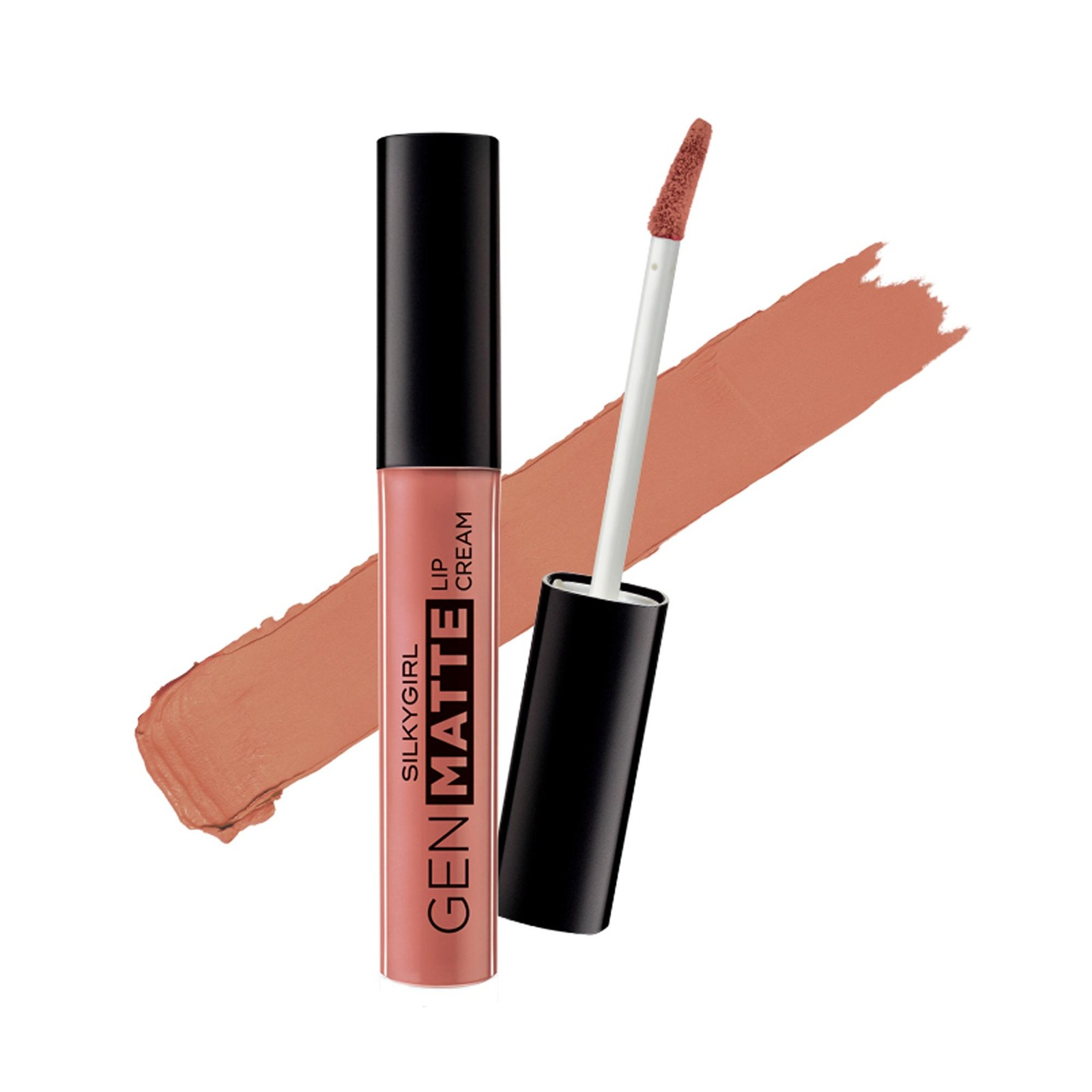 SILKYGIRL Gen Matte Lip Cream 01 Just Nude