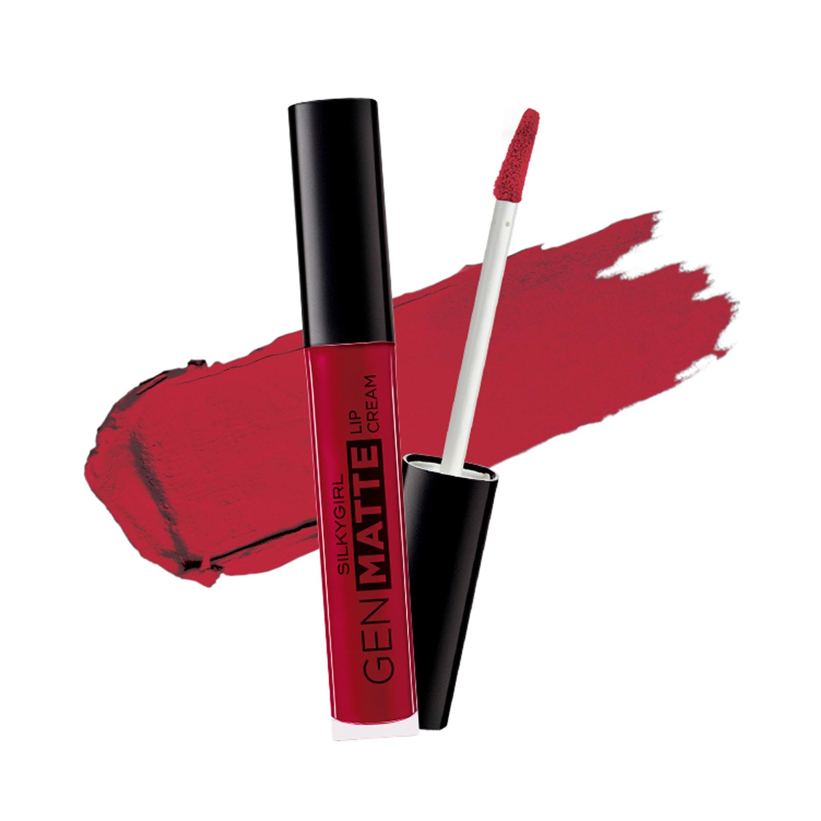SILKYGIRL Gen Matte Lip Cream 08 Red Rebel