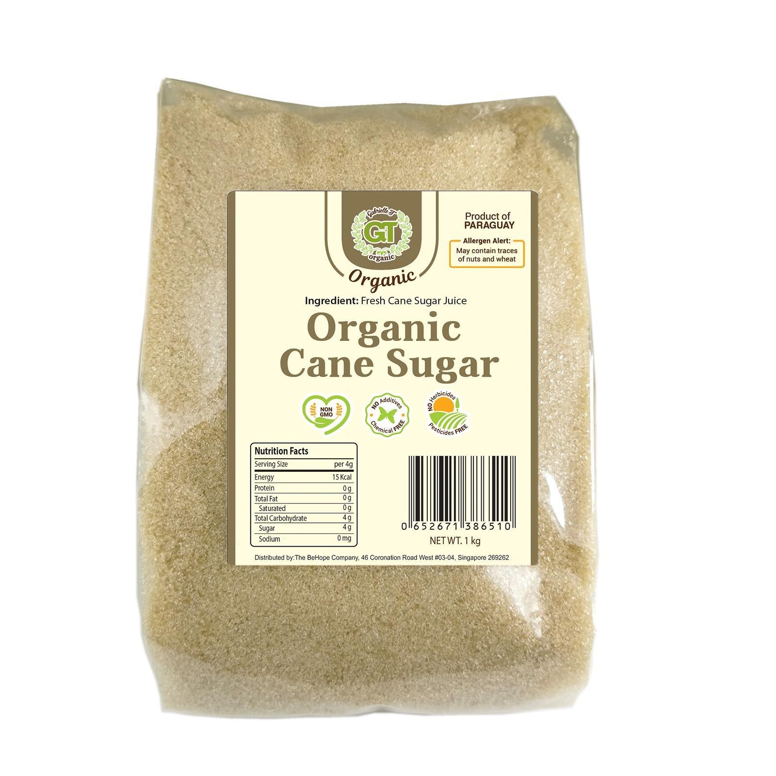 Gabrielle T Organic Cane Sugar