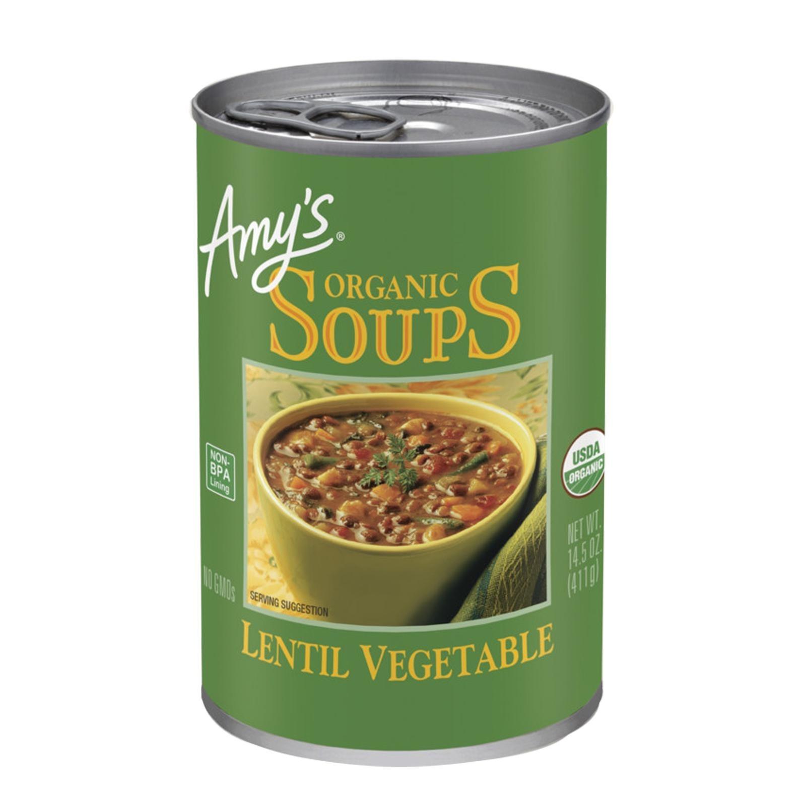 Amy's Kitchen Organic Soup Lentil Vegetable