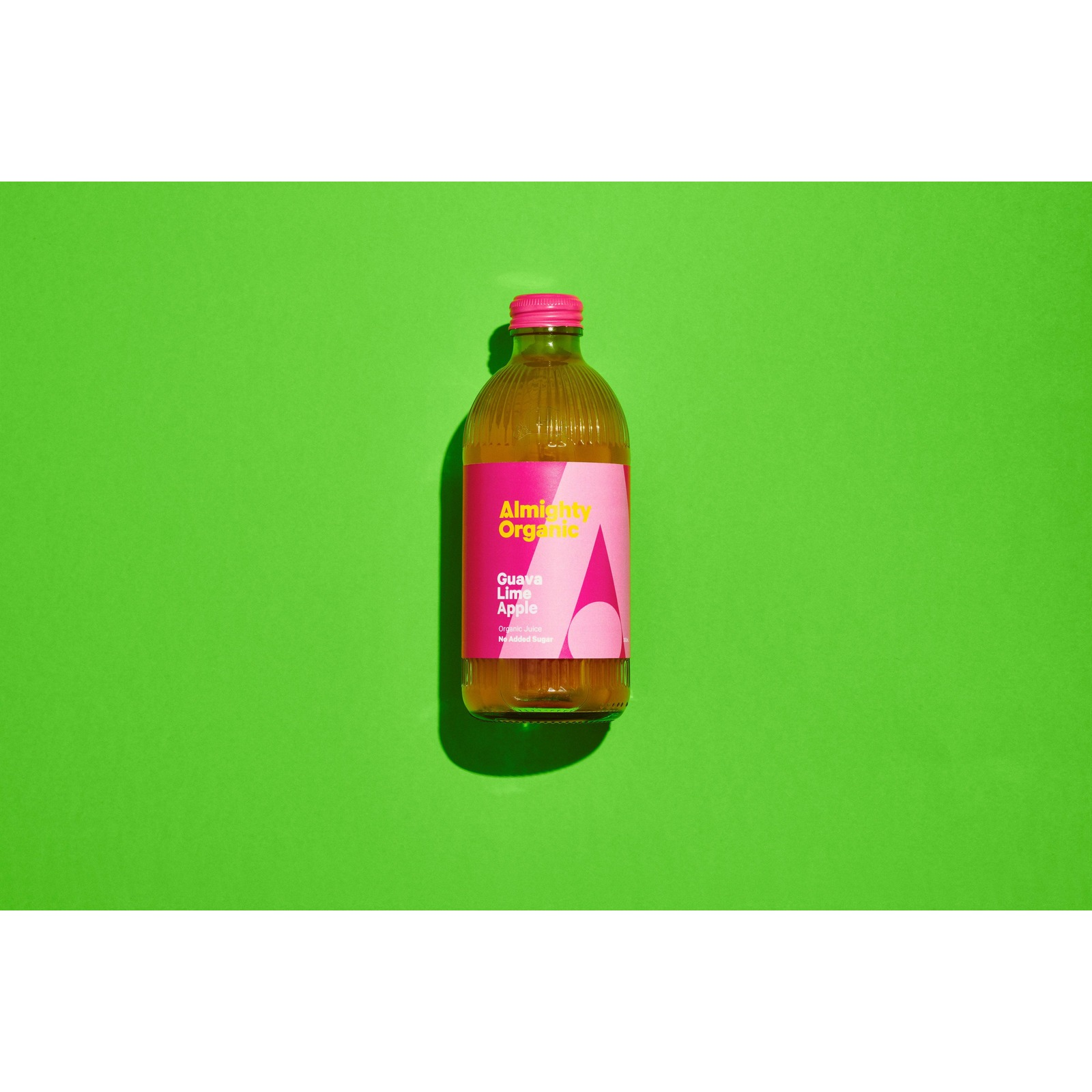 Drink Almighty Organic Juice - Guava Lime Apple 300ML X 12