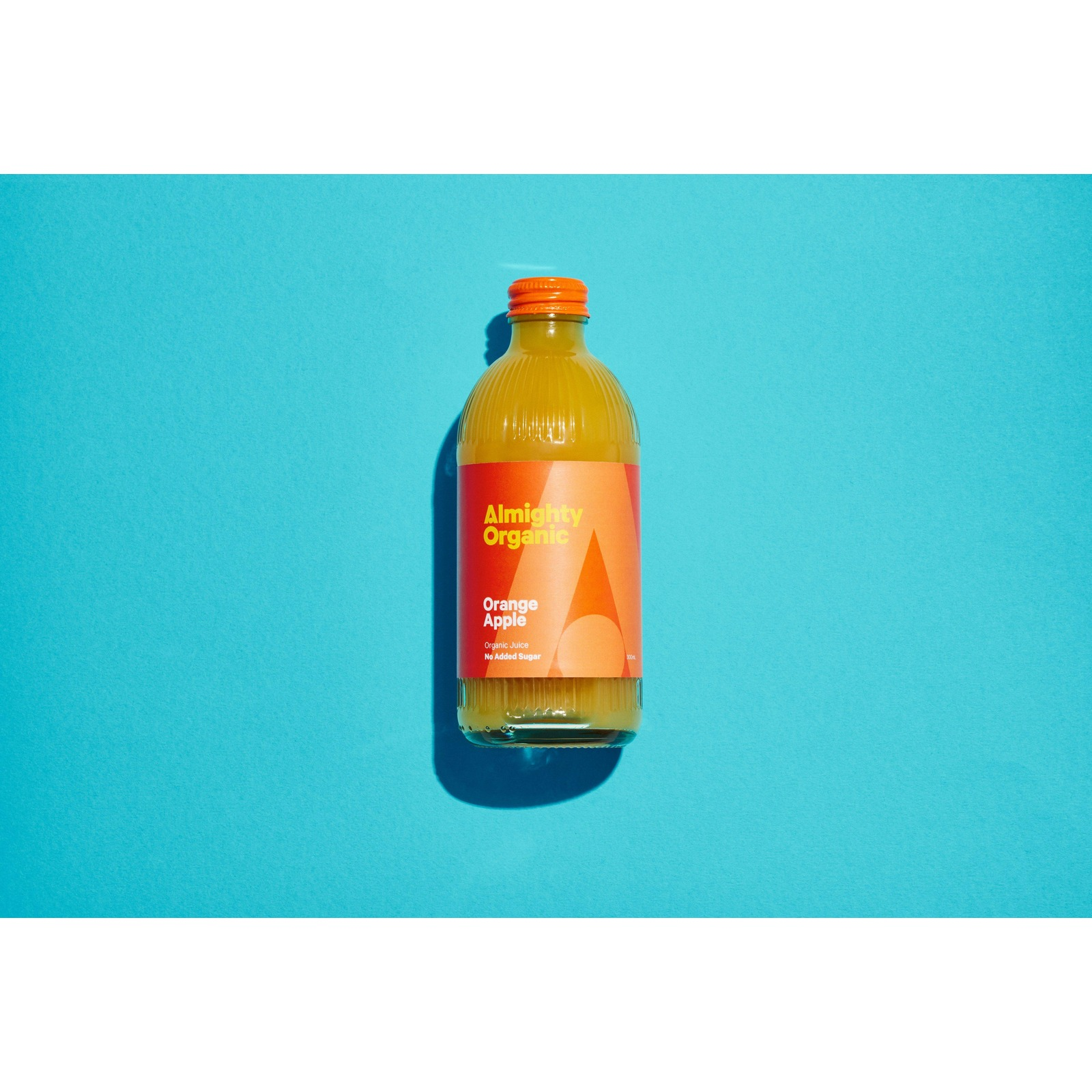 Drink Almighty Organic Juice - Orange Apple 300ML X12