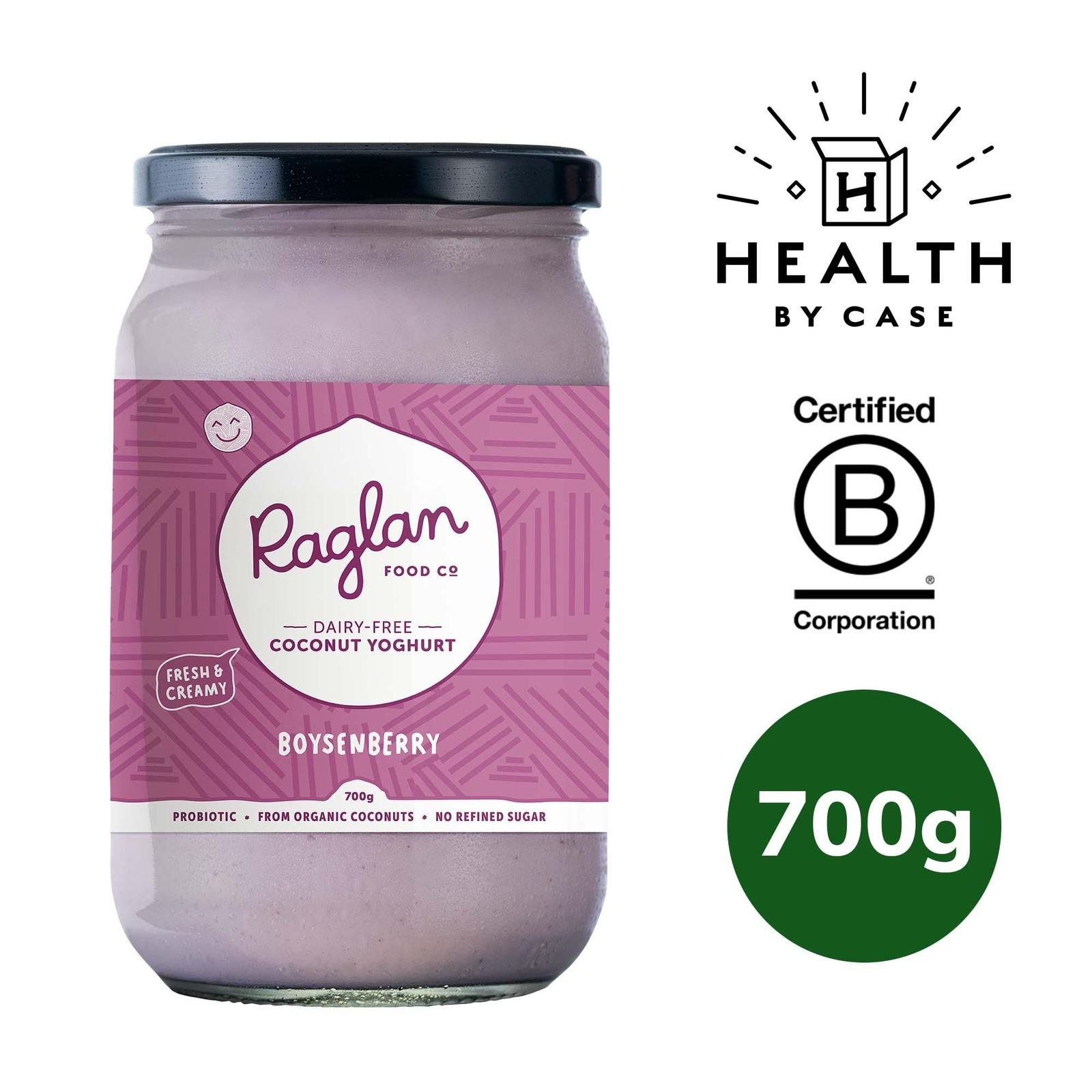 Raglan Food Company Coconut Yoghurt - Boysenberry