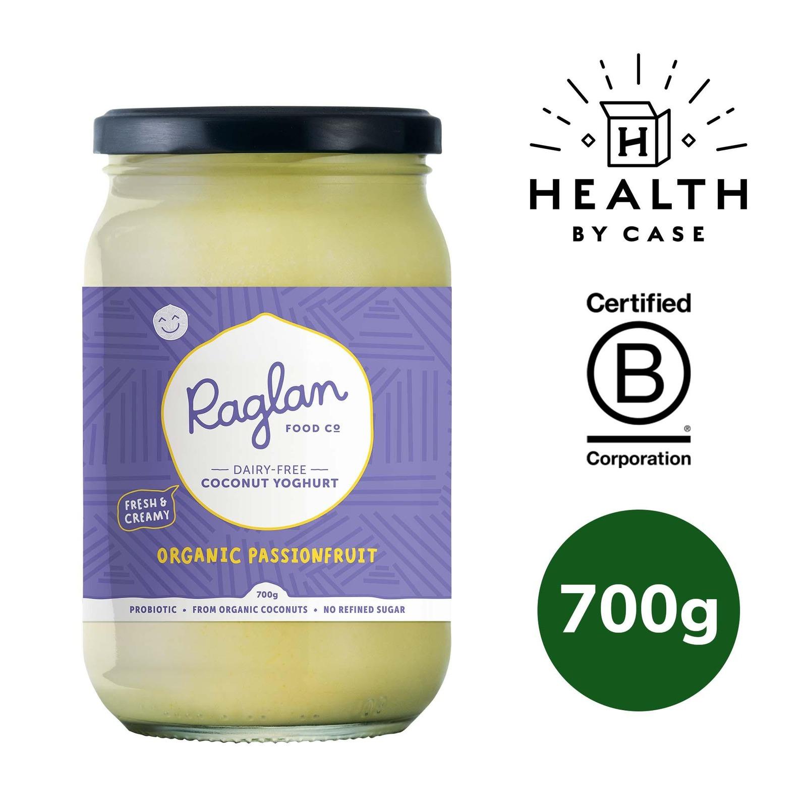Raglan Food Company Coconut Yoghurt - Organic Passionfruit