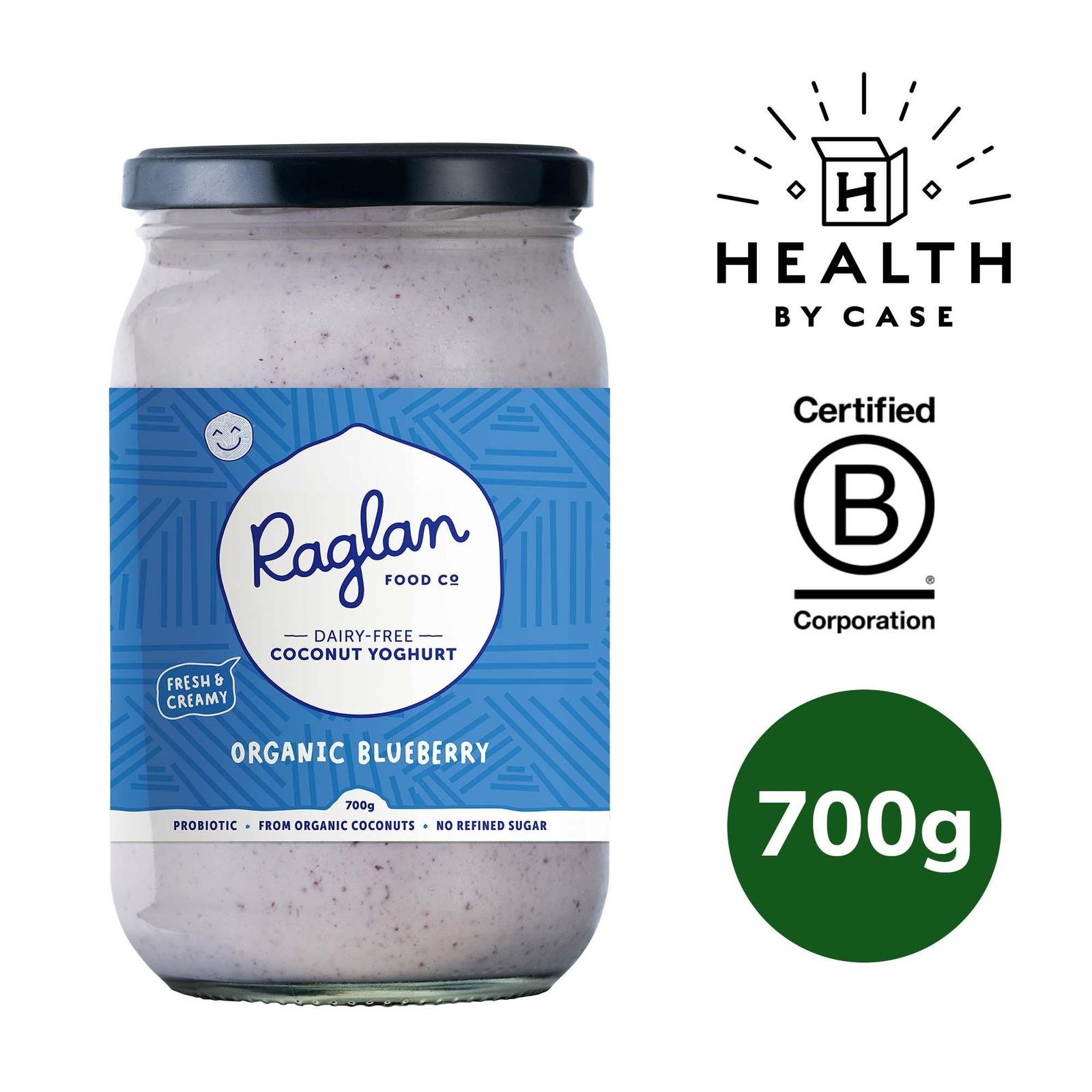 Raglan Food Company Coconut Yoghurt - Organic Blueberry