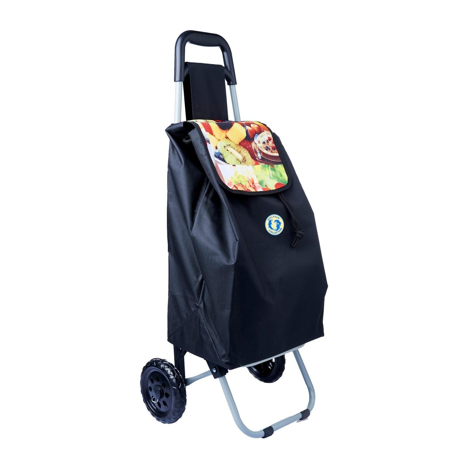 Dolphin Collection Market Trolley 57X34X22Cm - 42L (Fruits)