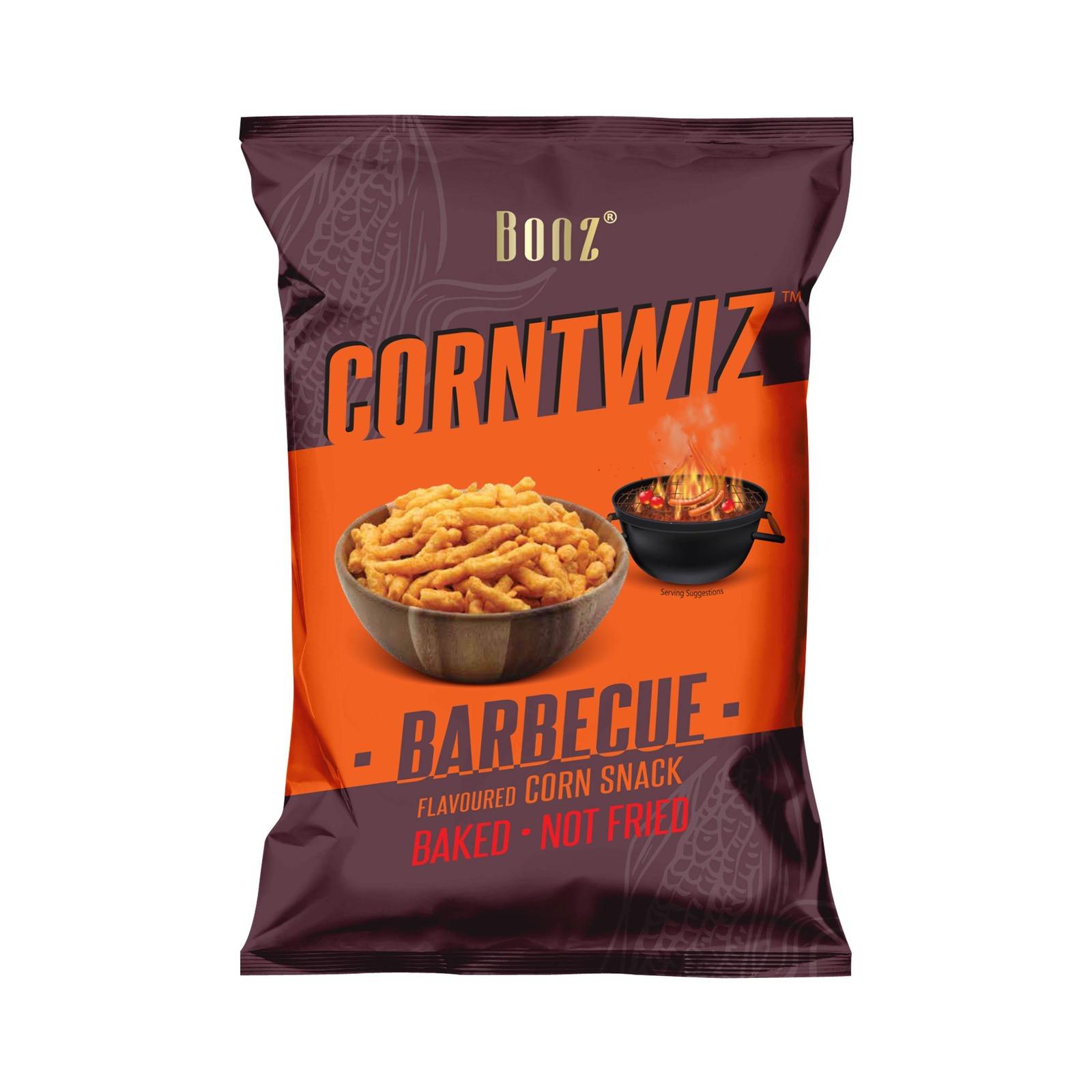BONZ CORNTWIZ Corn Snack - Barbecue