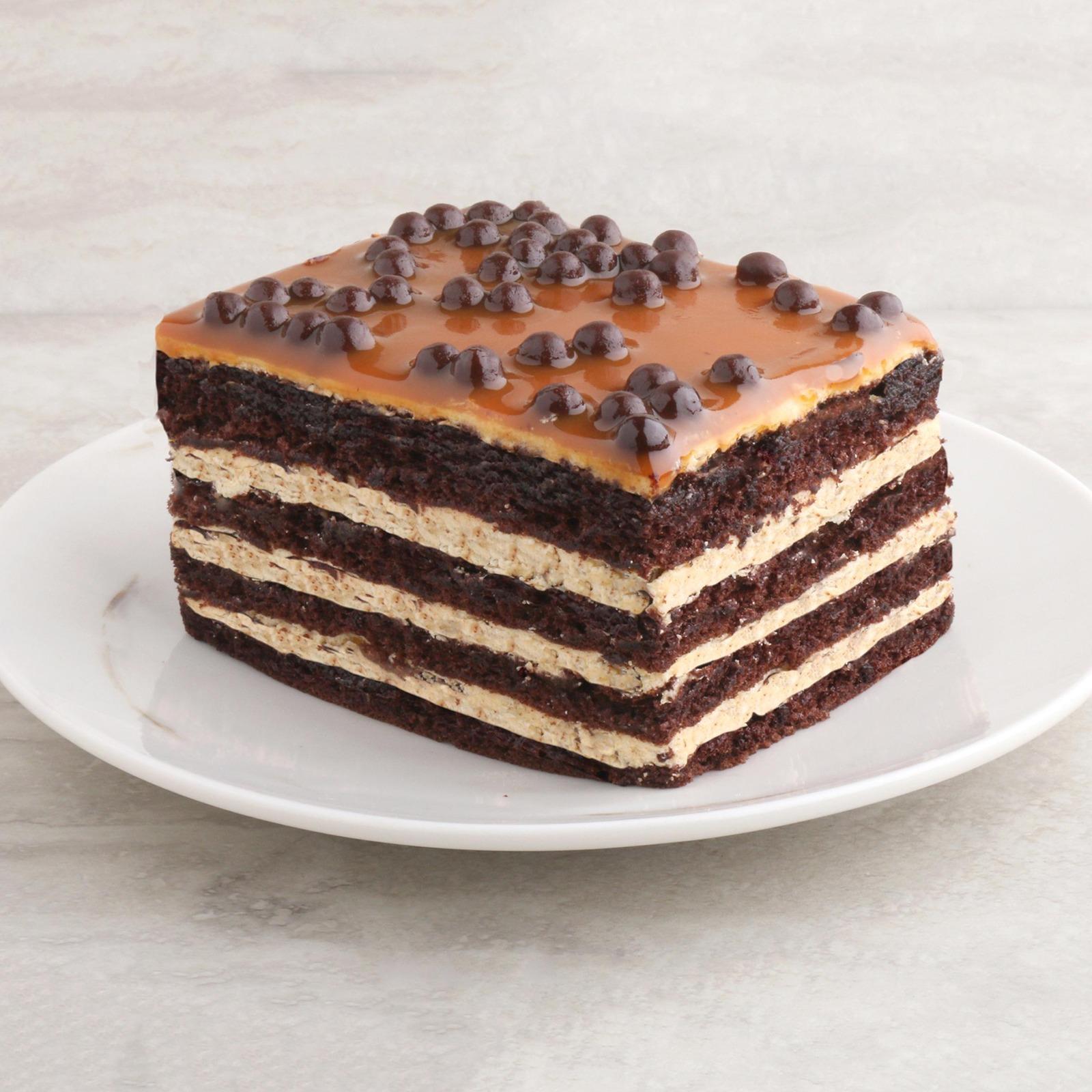 Da Paolo Gastronomia Chocolate Caramel Crunch Cake