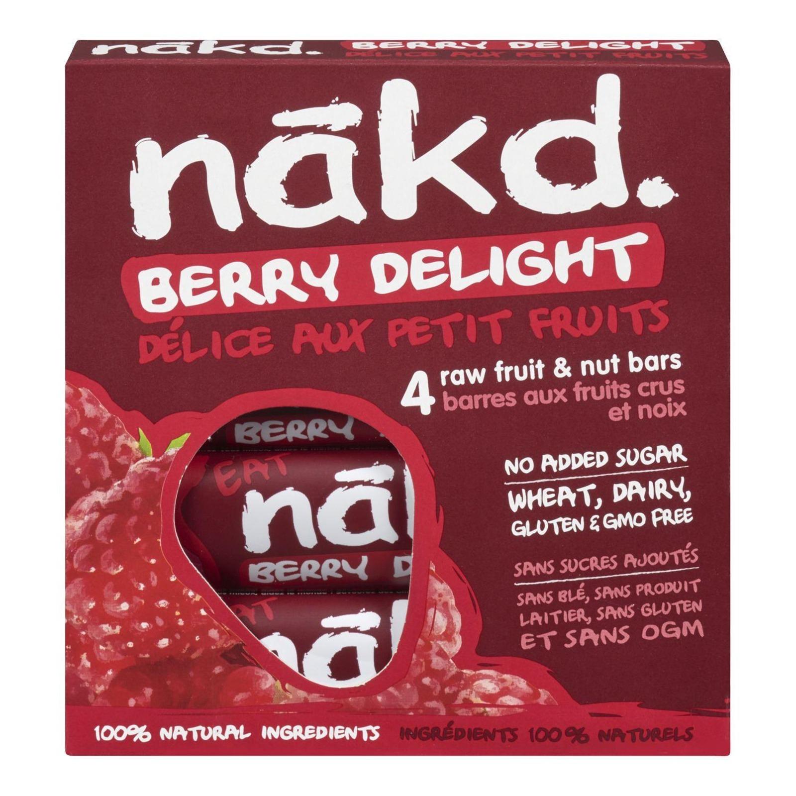 NAKD Berry Delight Bars