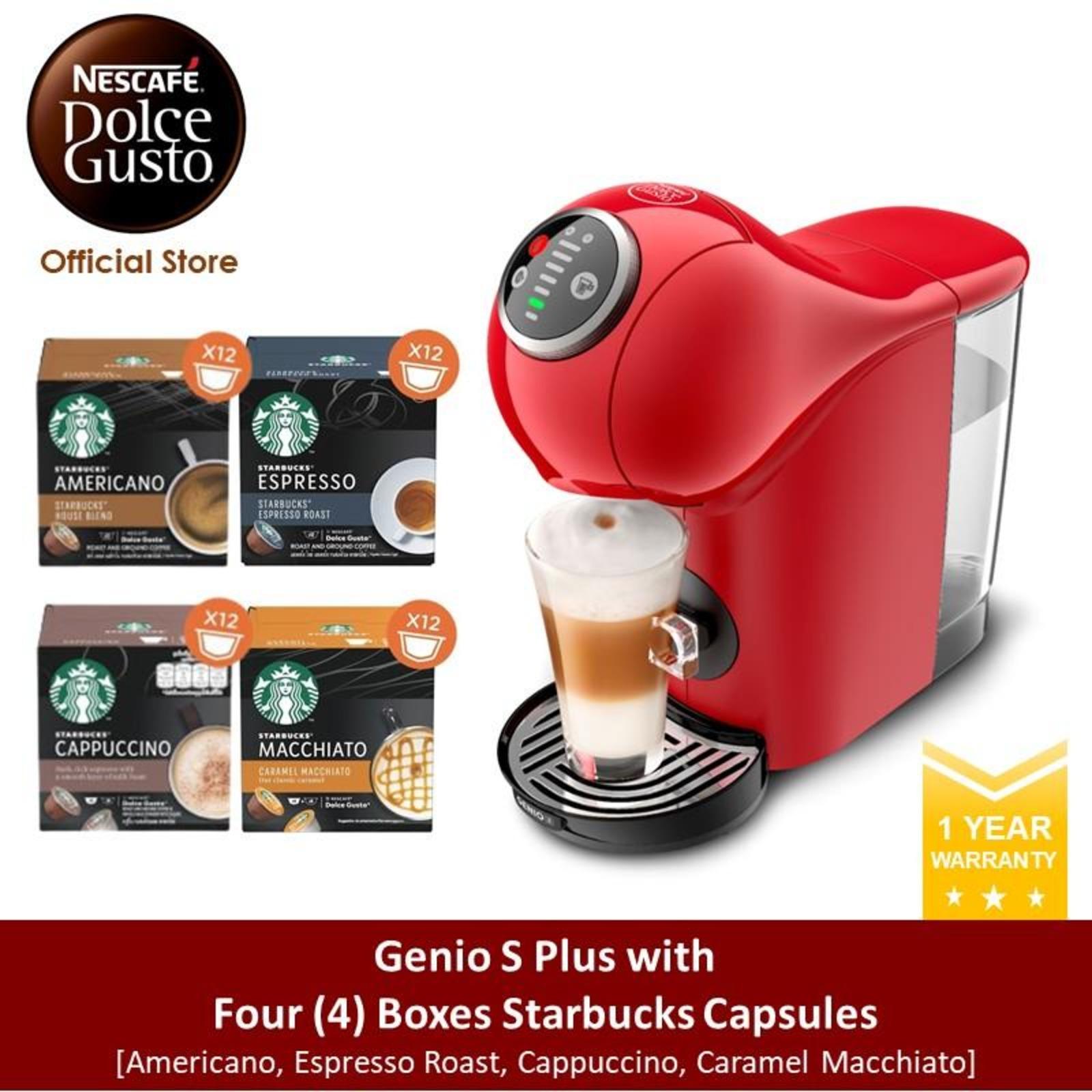 NESCAFE Dolce Gusto *GWP* Genio S Plus w 4 Starbucks Pods(R)