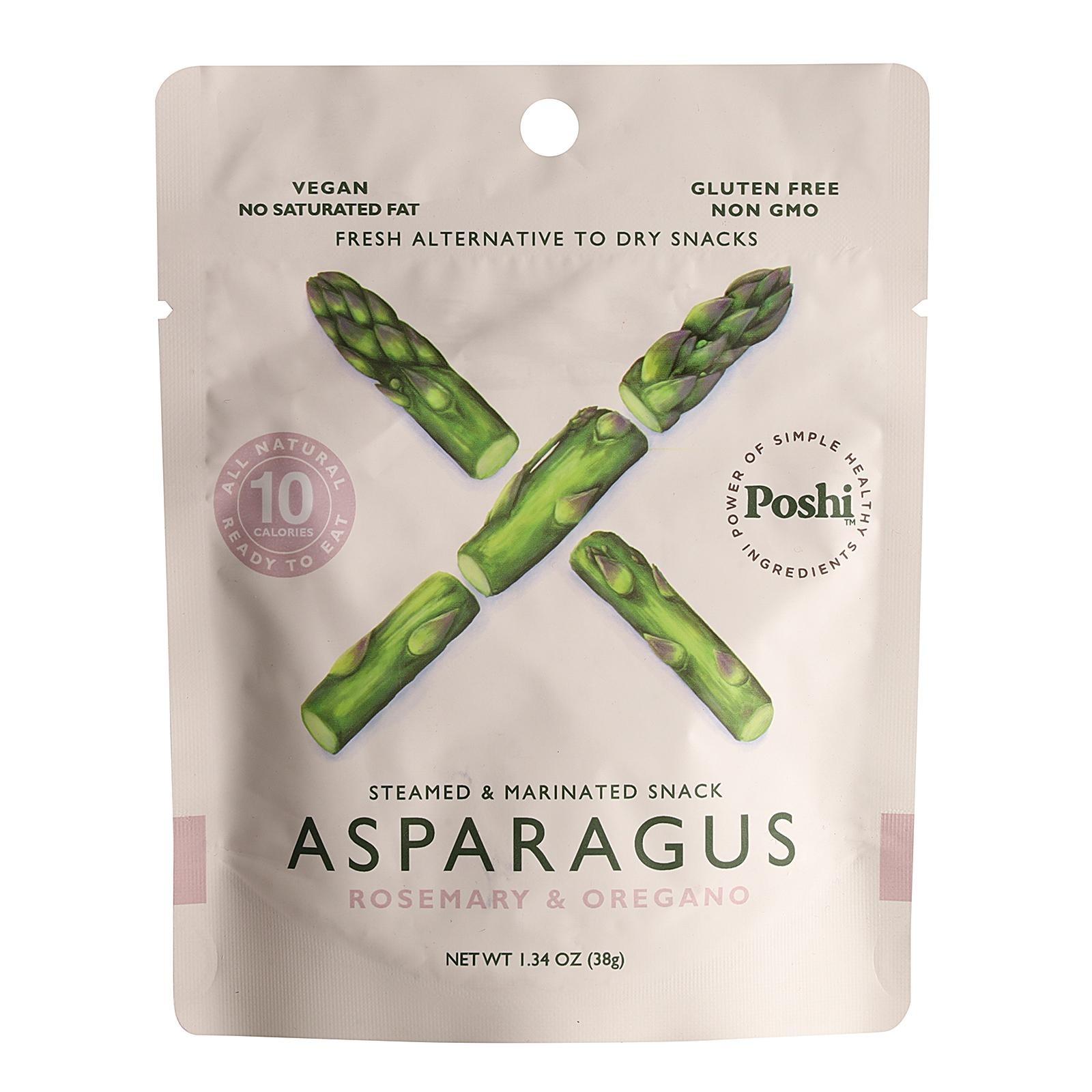 Poshi Freshly Marinated Asparagus with Rosemary & Oregano