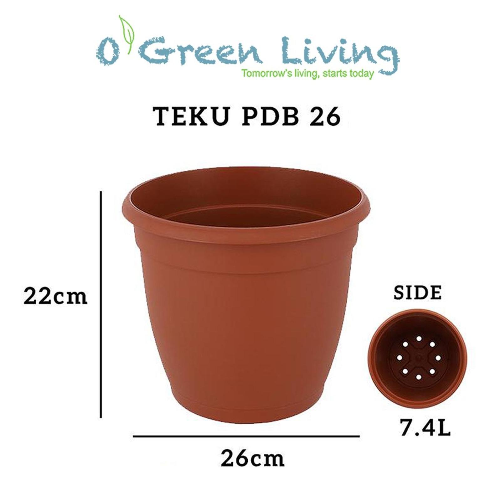 Organic Green Living (OGL) PDB26 Pots