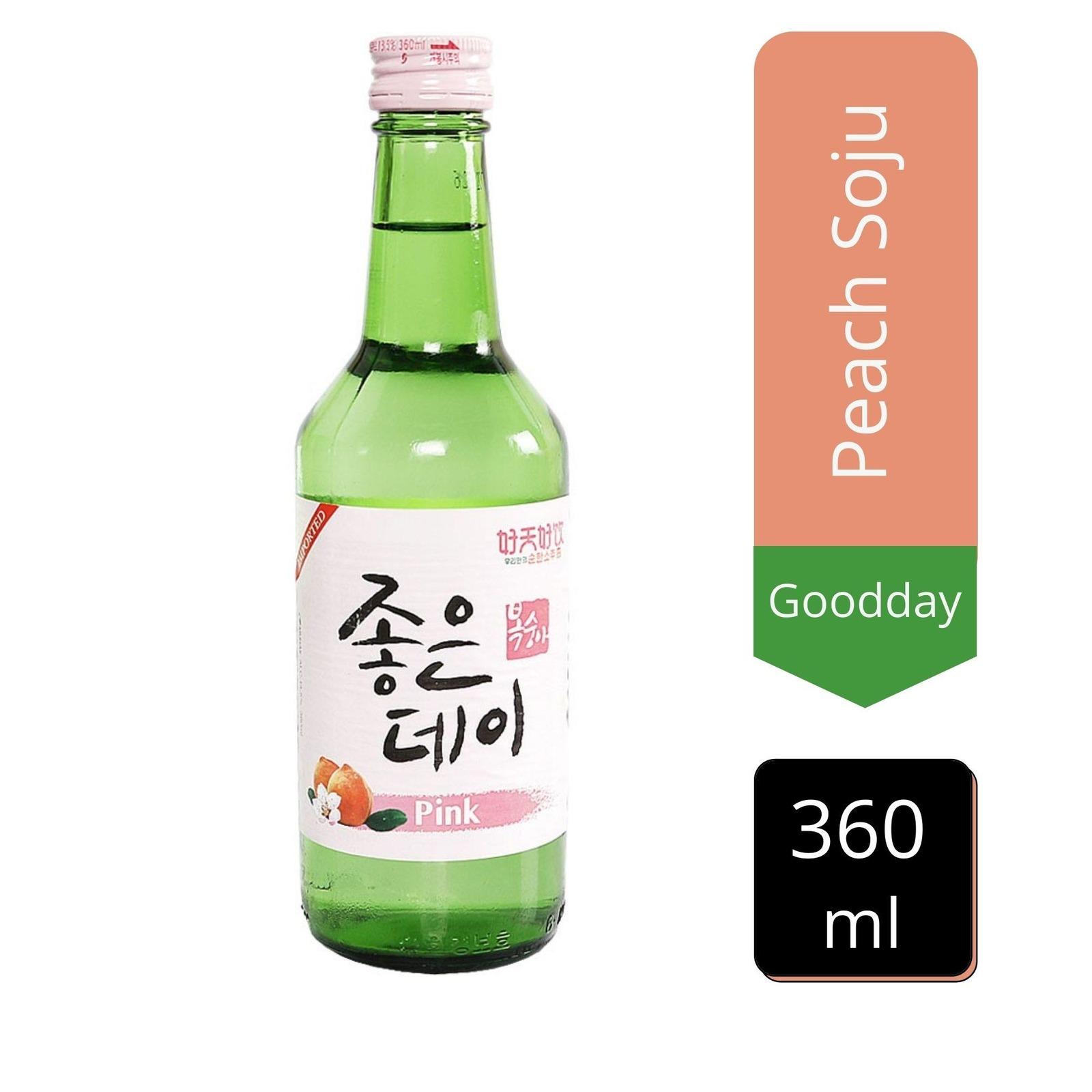 Goodday Peach Soju