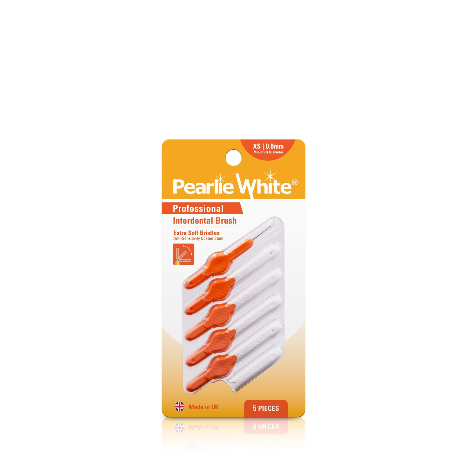 Pearlie White Professional Interdental Brush XS 0.8mm