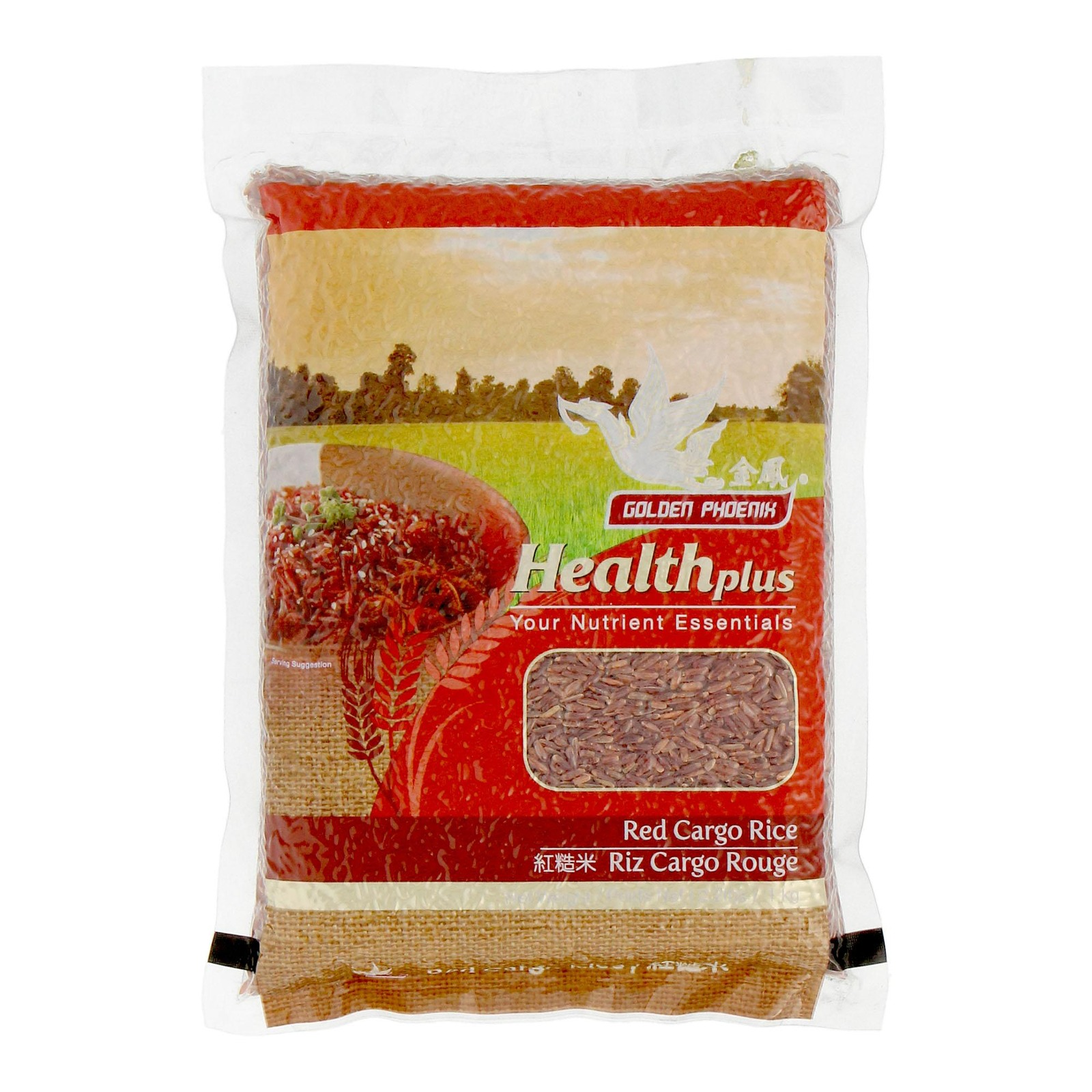 Golden Phoenix Healthplus Red Cargo Rice
