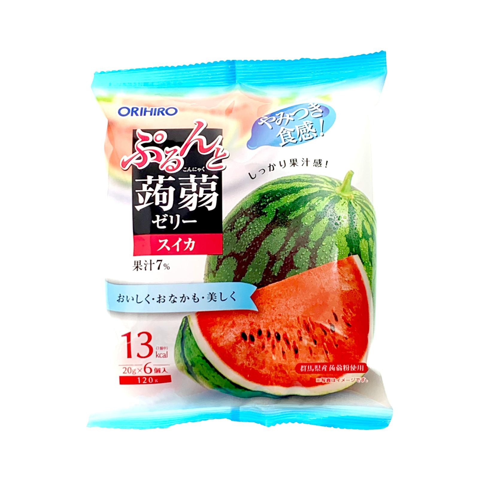 Orihiro Purun To Konnyaku Jelly Watermelon