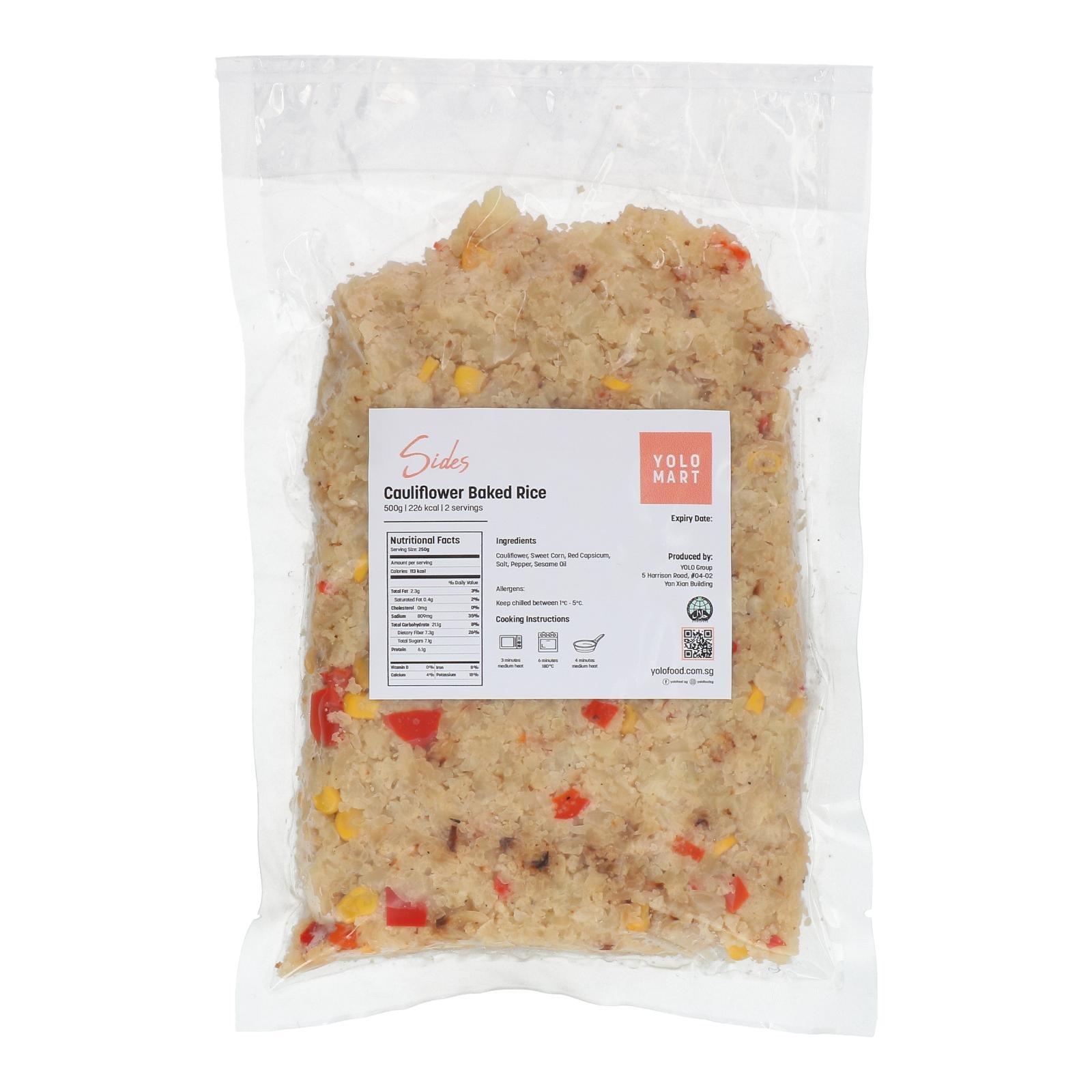 YOLO Healthy Food Cauliflower Rice 500 G
