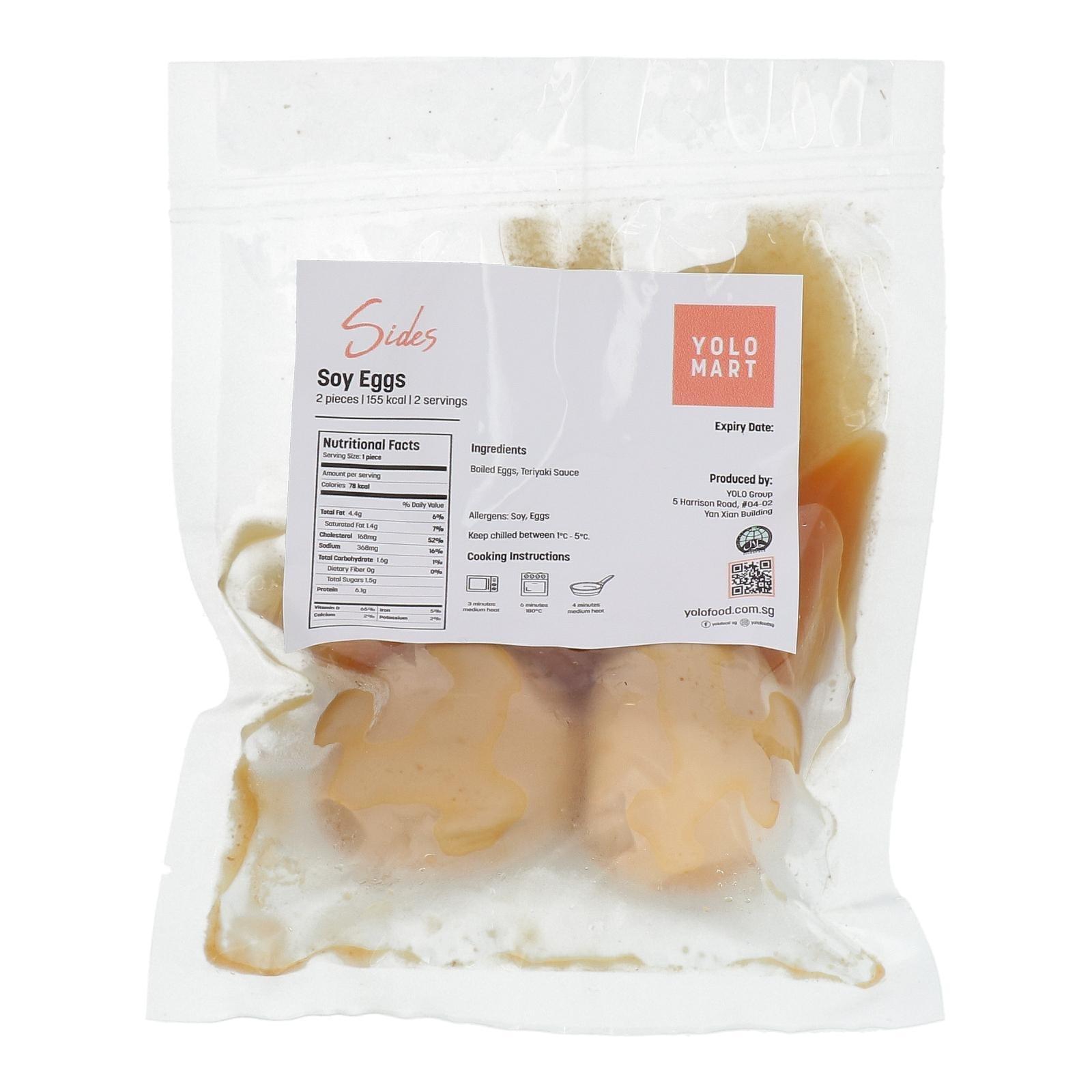 YOLO Healthy Food Soy Eggs 2 QT