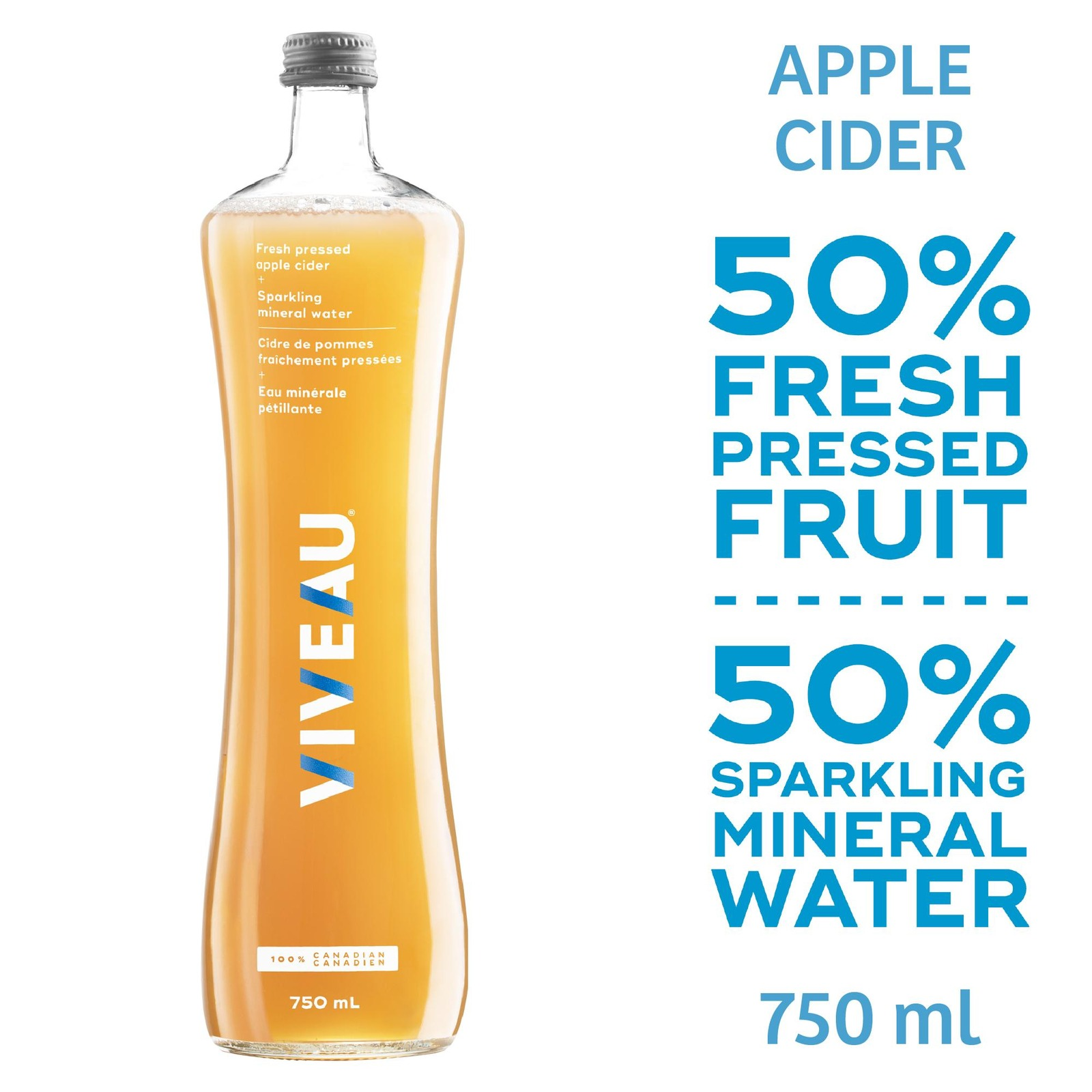 Viveau Fresh Pressed Apple Cider 750ML