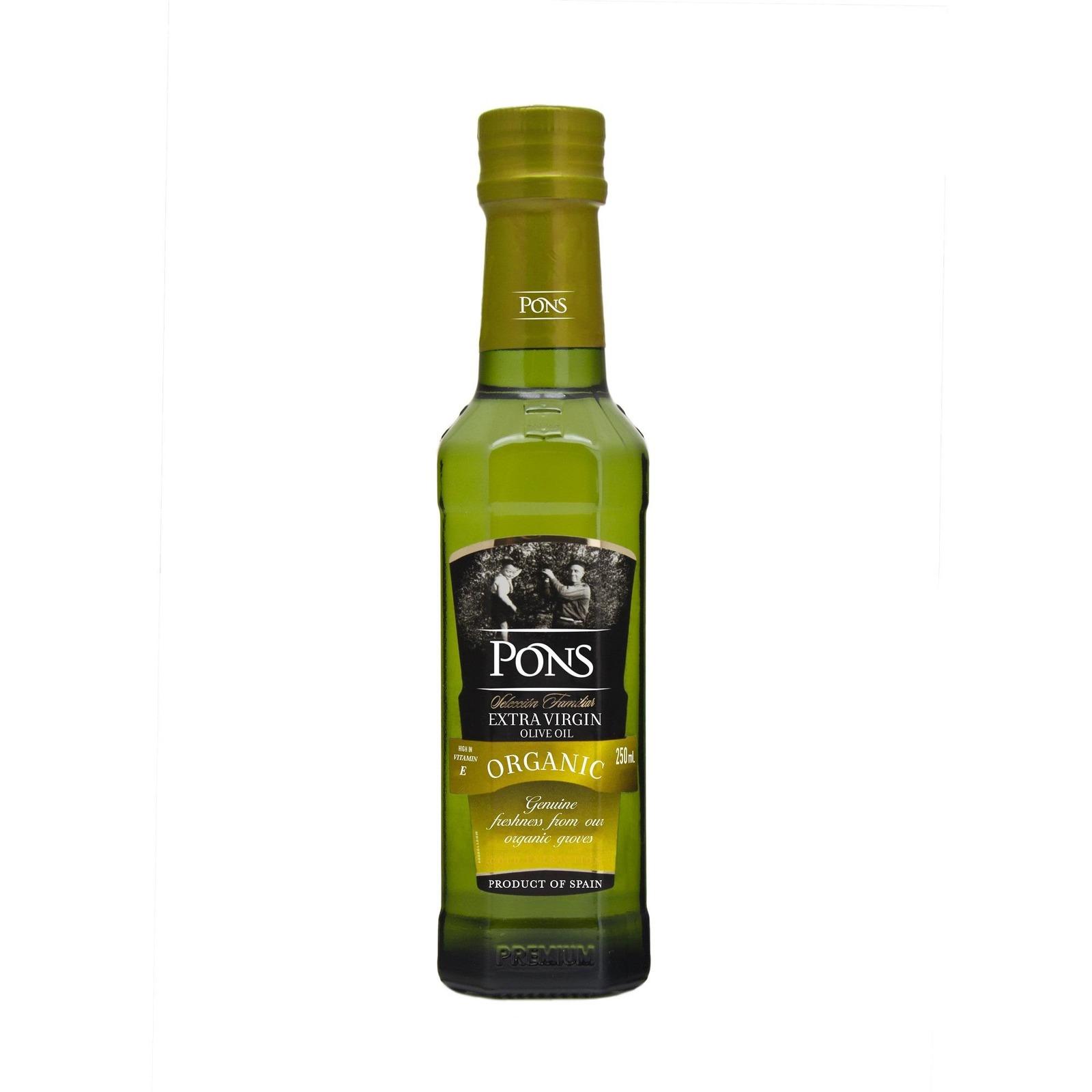 PONS Organic Extra Virgin Olive Oil Premium 250