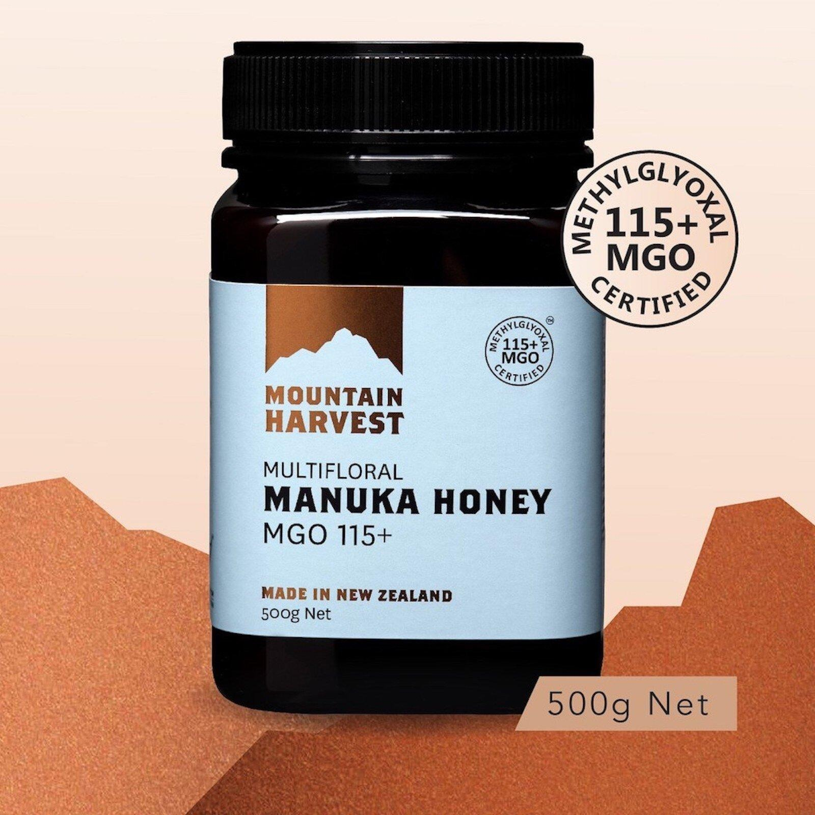 Mountain Harvest Manuka Honey MGO 115+