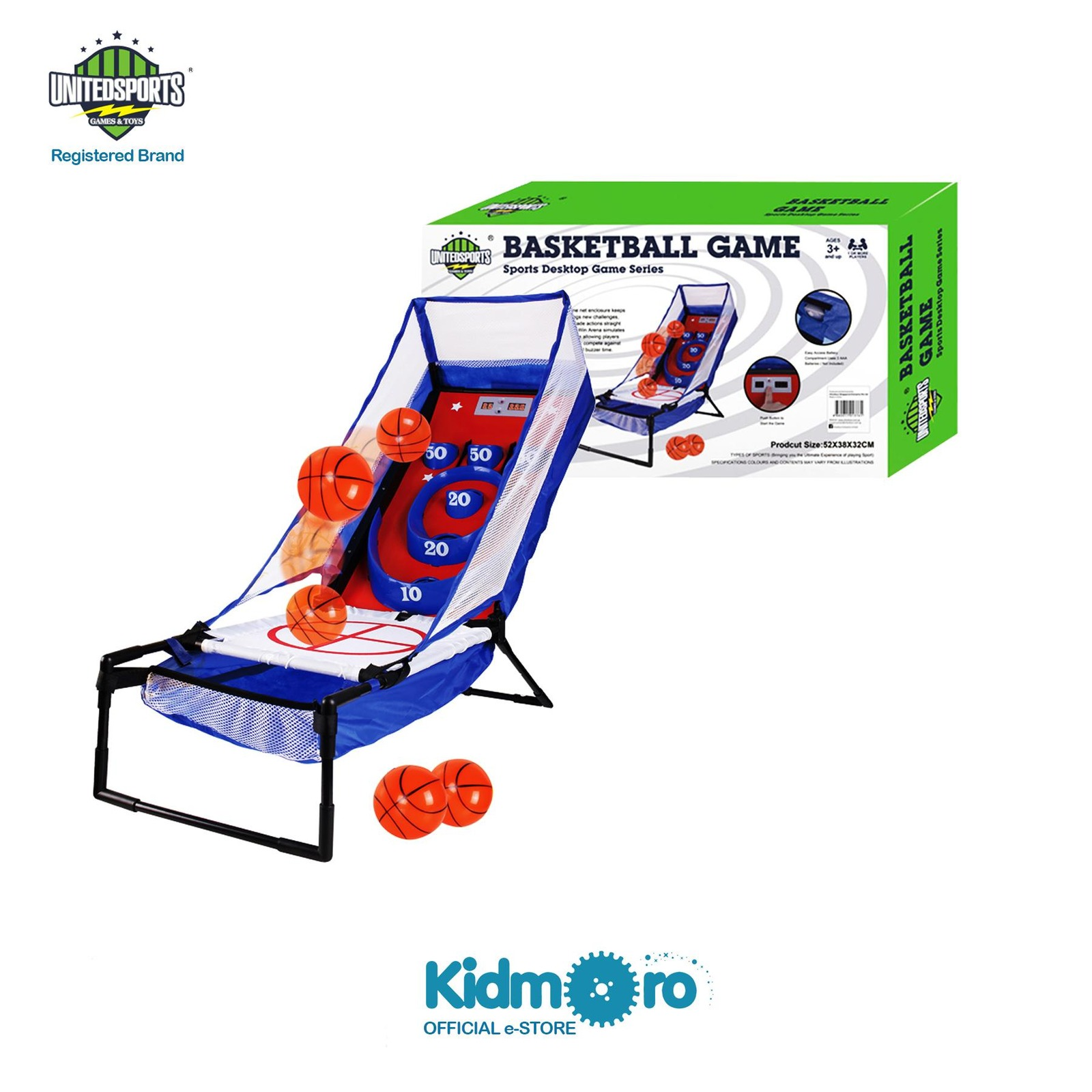 United Sports Electronic Basketball Bounce & Score