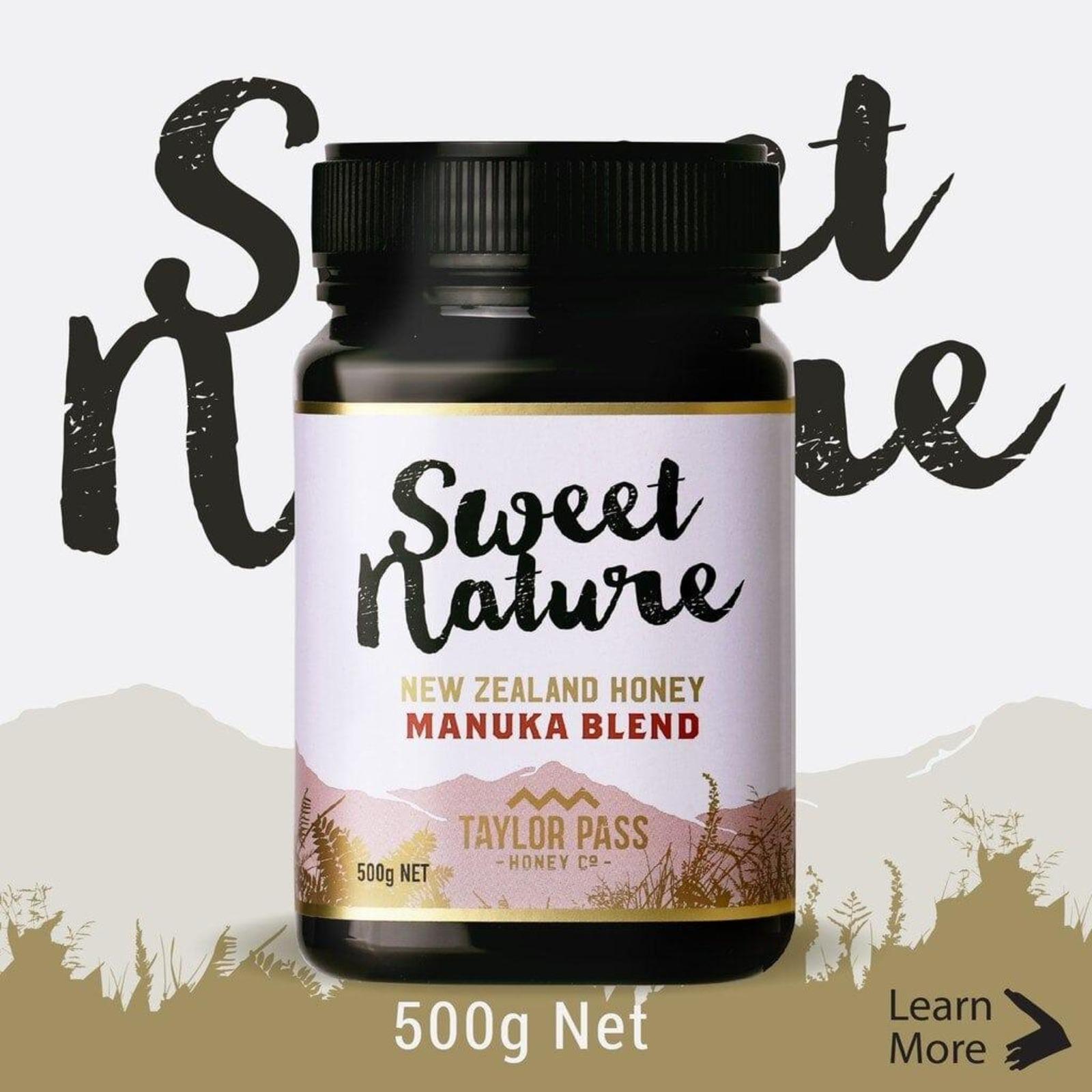 Sweet Nature Manuka Blend Honey