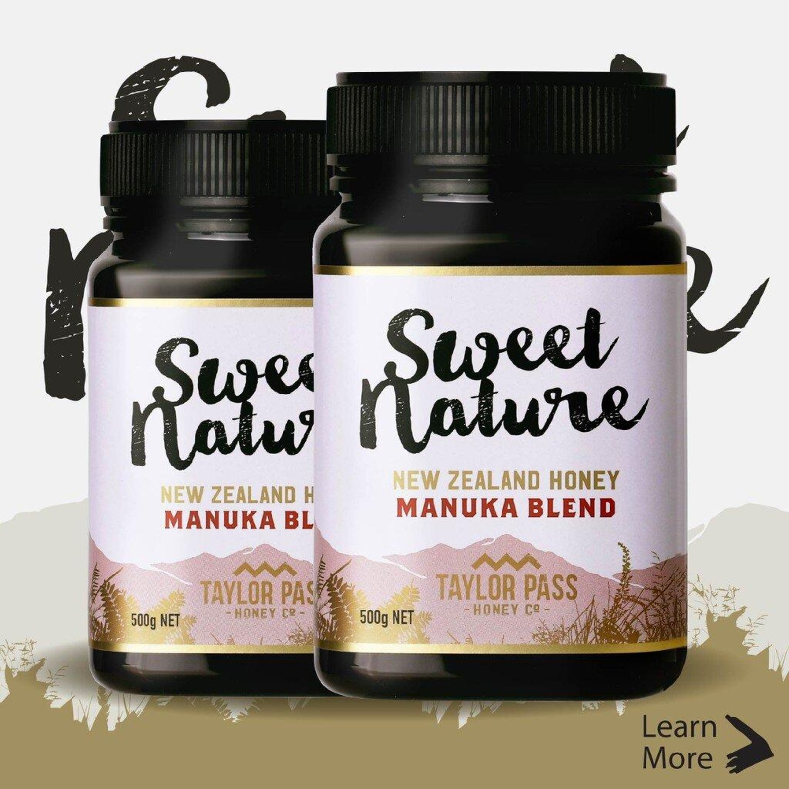 Sweet Nature Manuka Blend Honey 500g (Bundle of 2)