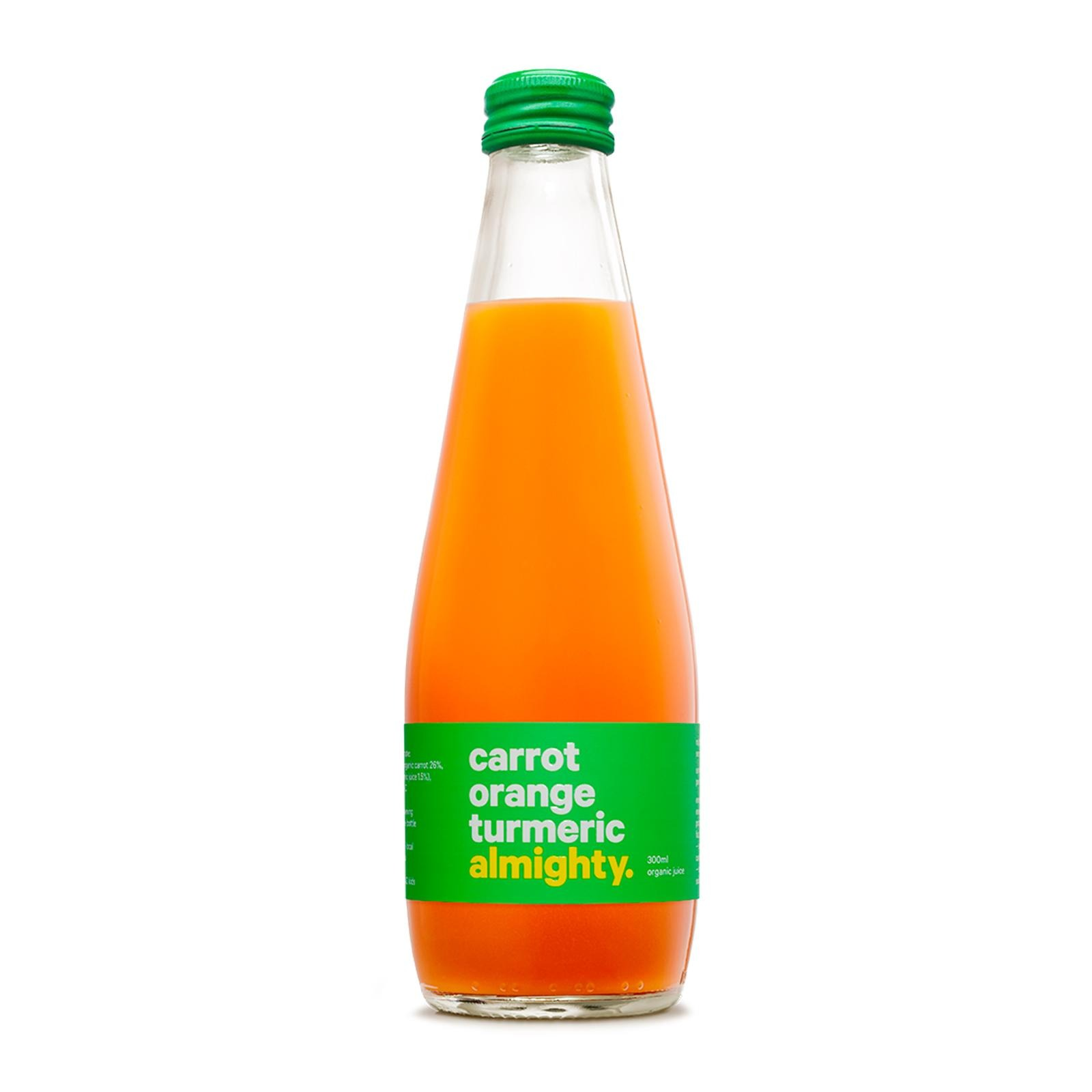 Drink Almighty Organic Juice - Carrot Orange Tumeric
