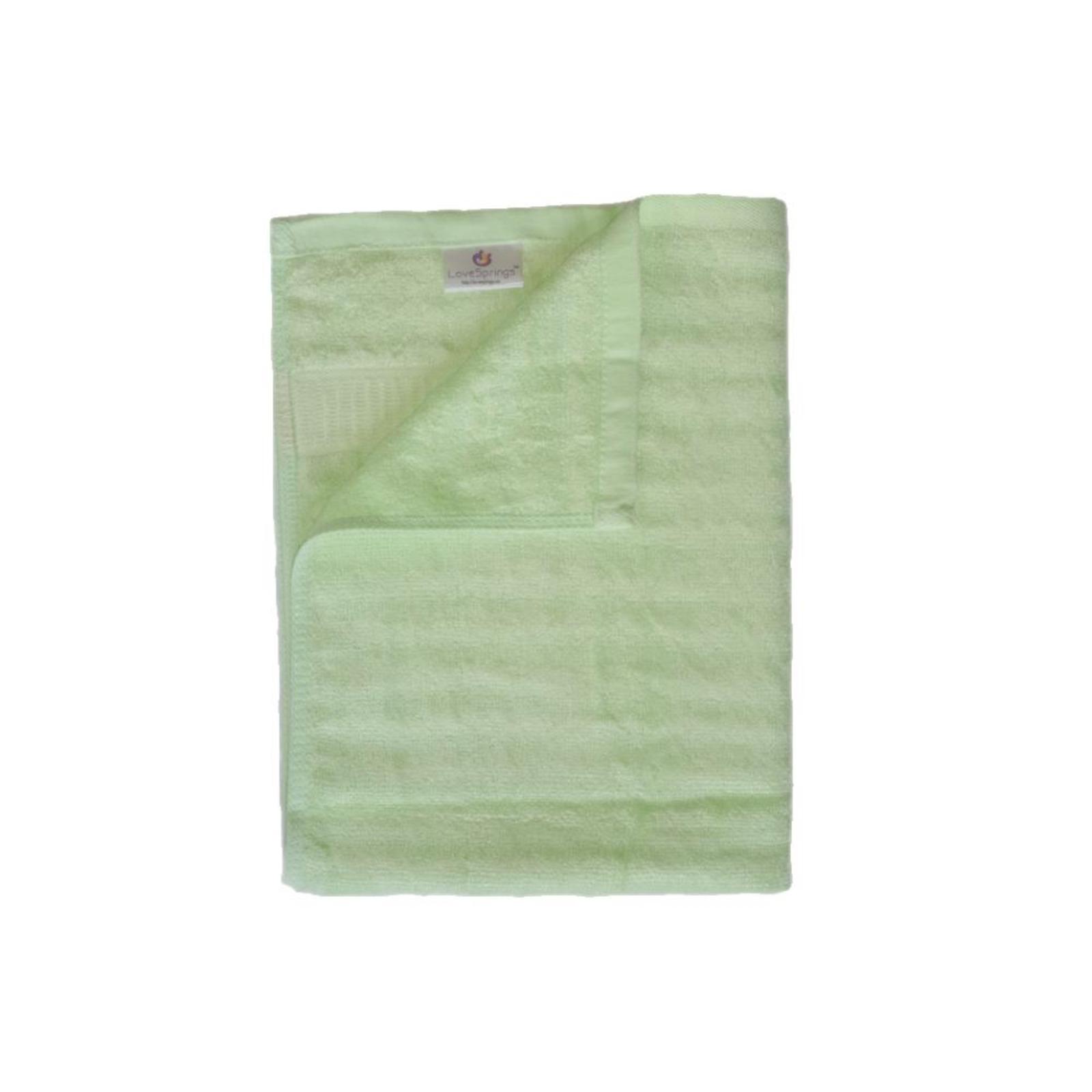 LoveSprings Bamboo fiber bath towel - Green