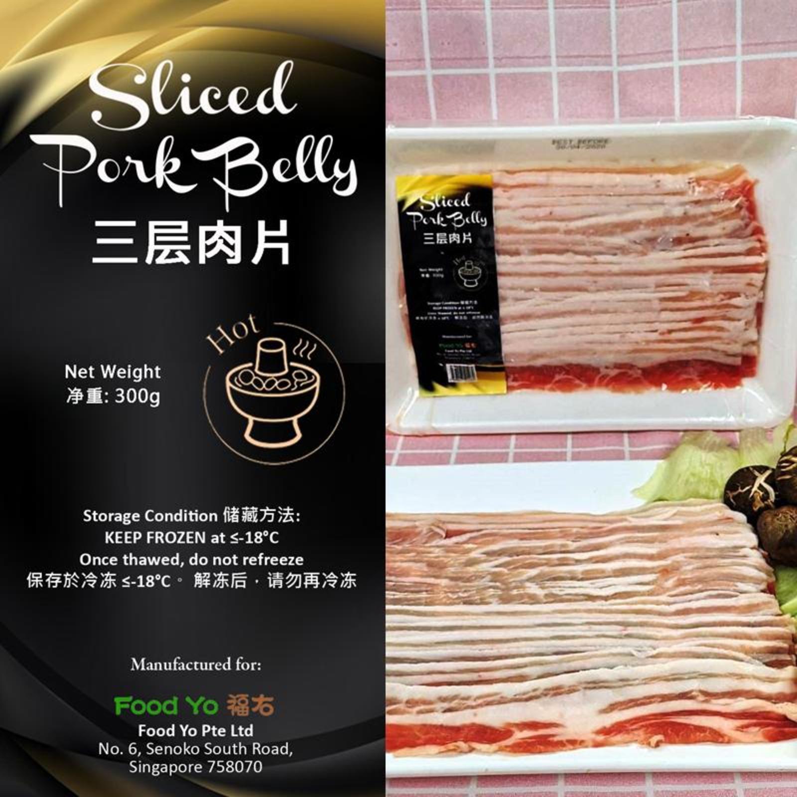 Food Yo Sliced Pork Belly