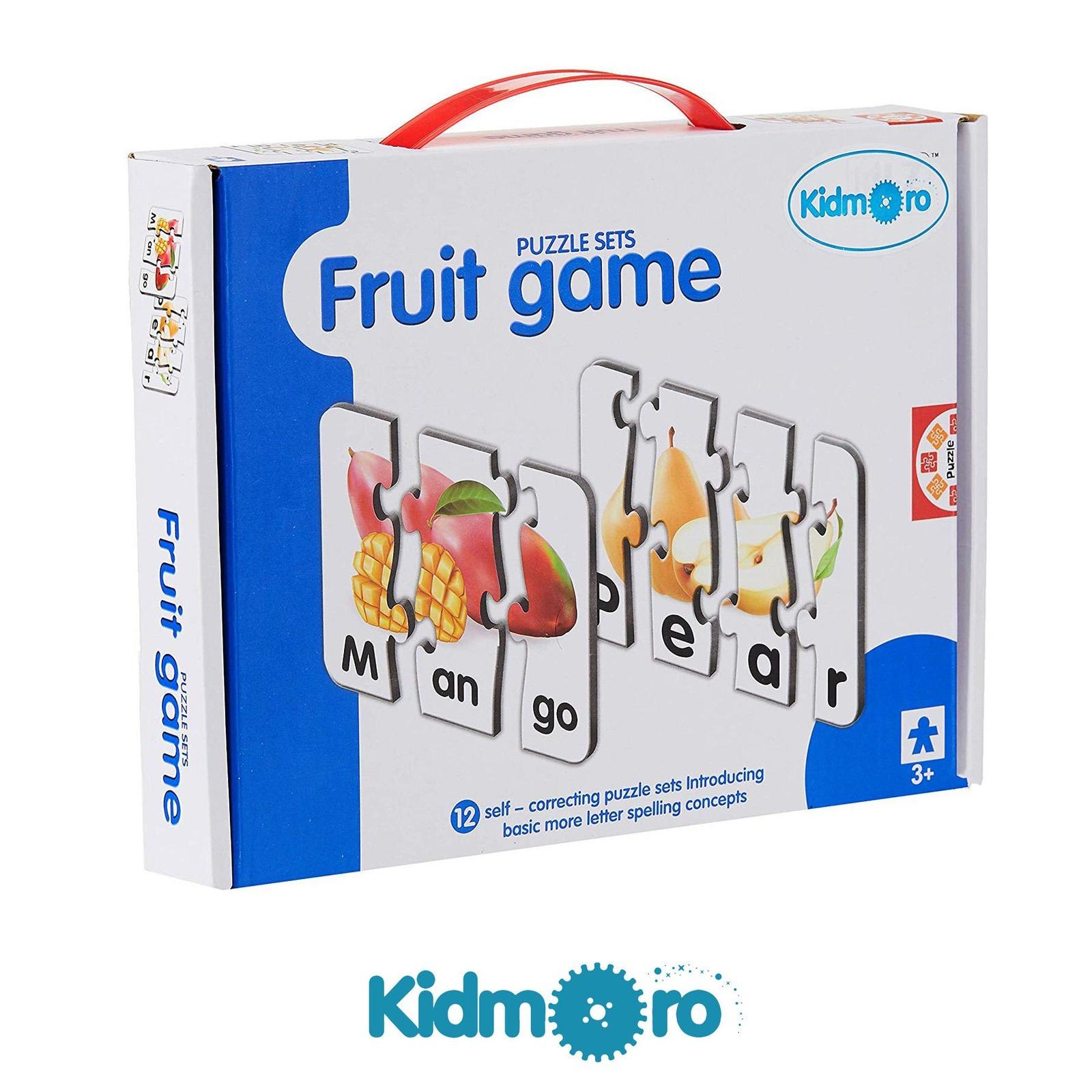 Kidmoro Fruit Game Learning Puzzle