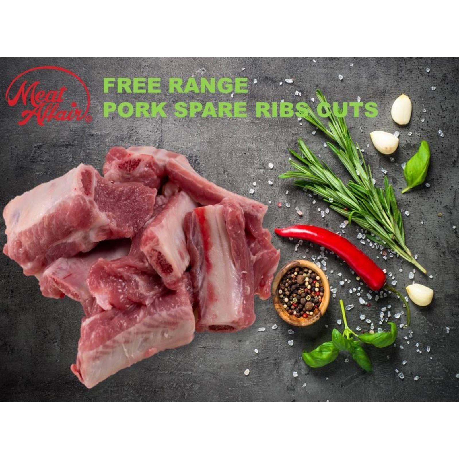 Meat Affair Free Range Pork Spare Rib Cube
