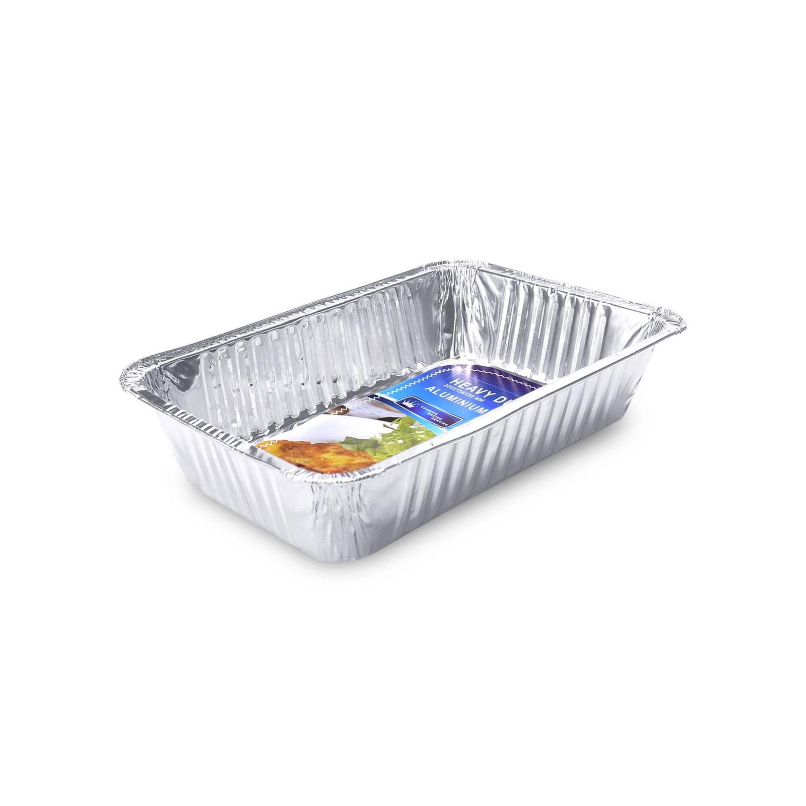 HOUZE Aluminium Foil Tray (Set of 4)