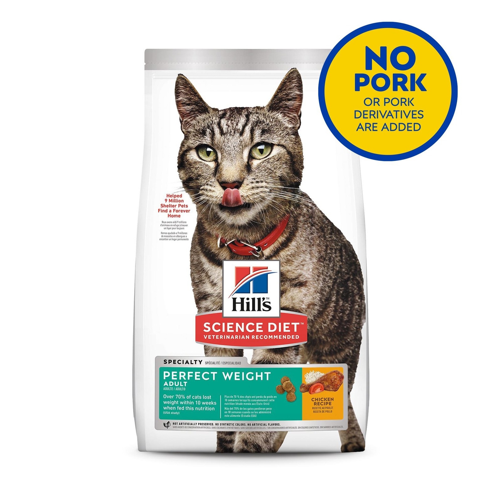 Hill's Science Diet Feline Adult Perfect Weight 6.8kg