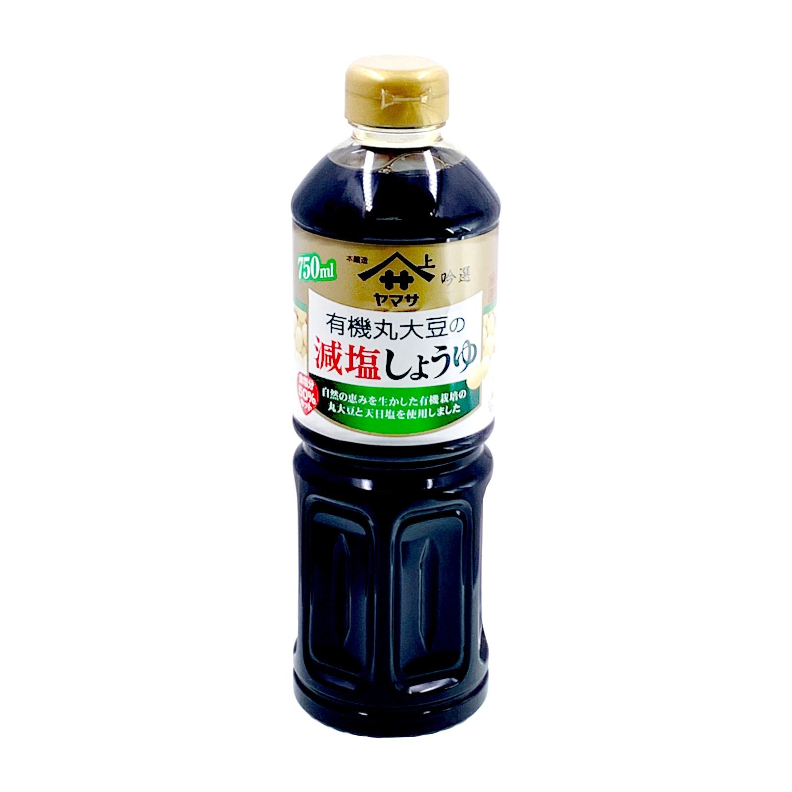Yamasa Premium Organic Shoyu Soy Sauce (Reduced Salt)