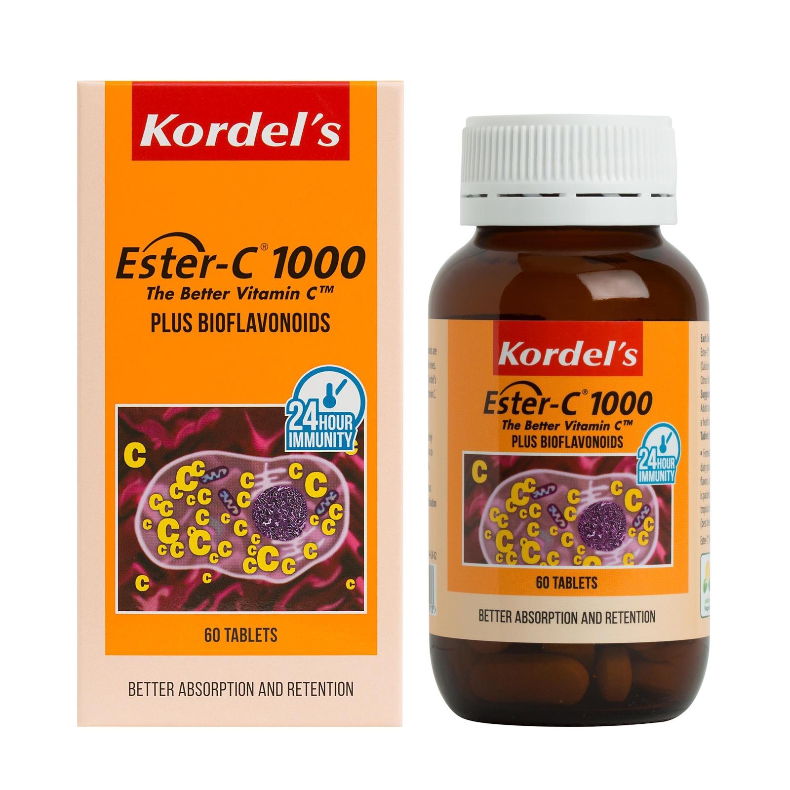 KORDEL'S ESTER-C  1000 mg 60S